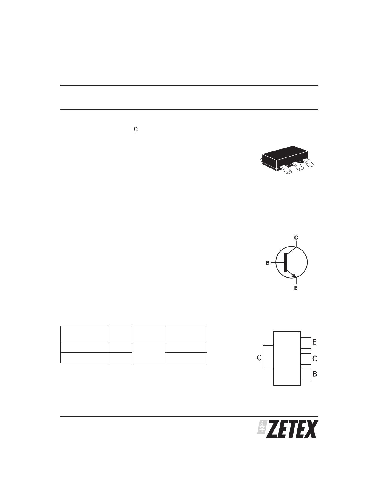 ZX5T853GTC datasheet