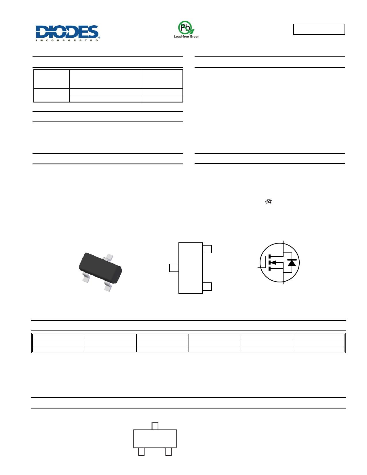 ZXMN6A07FTA دیتاشیت PDF