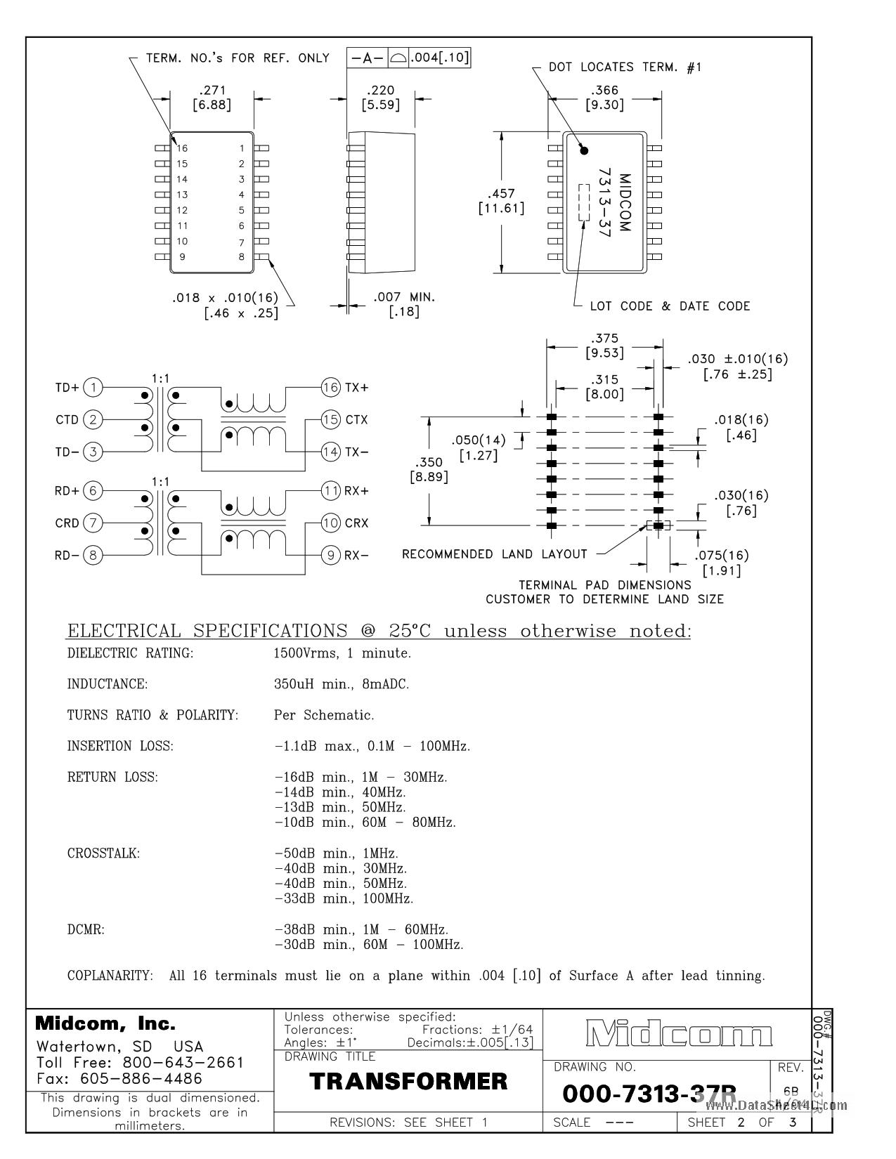 000-7313-37R دیتاشیت PDF