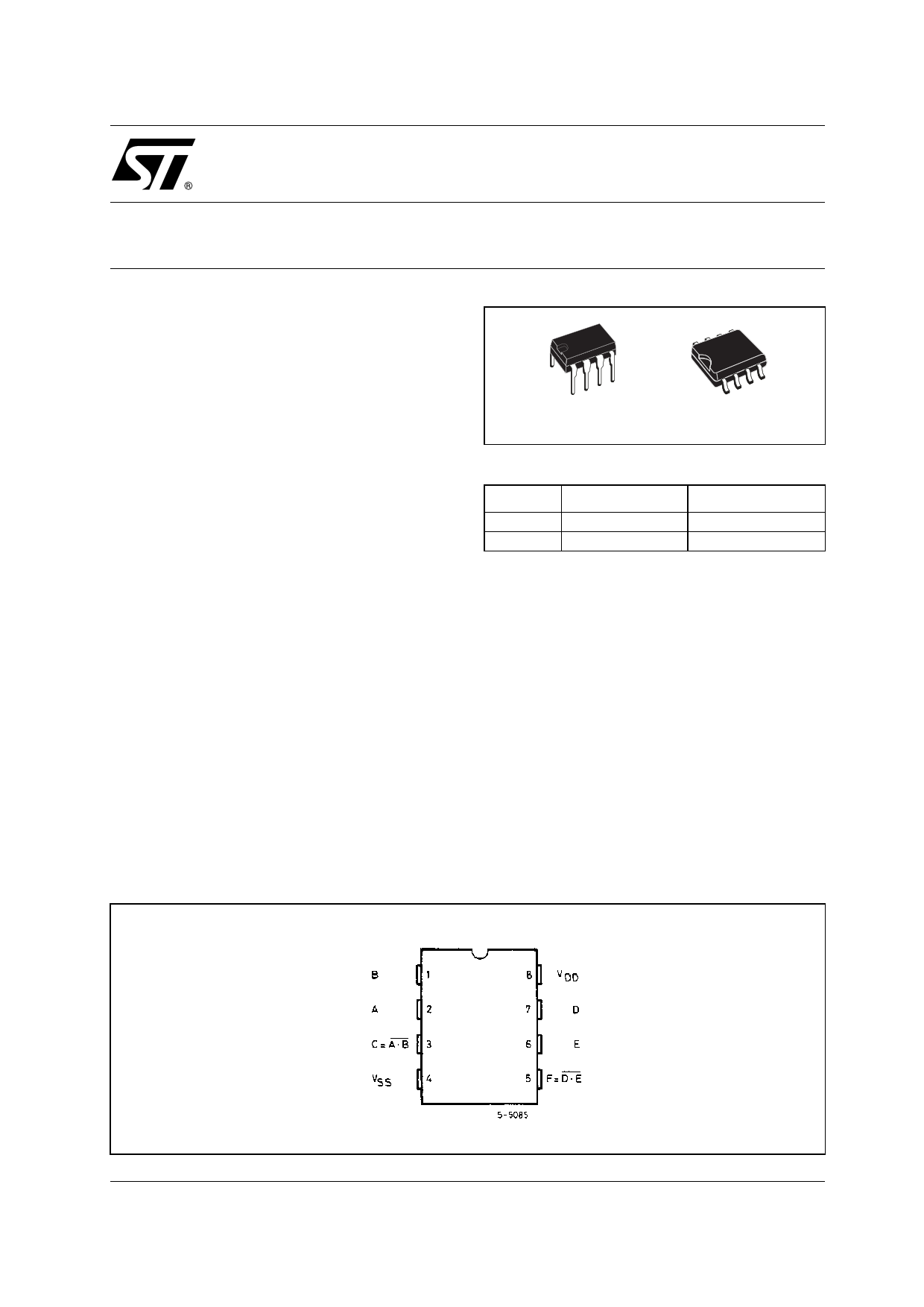 40107BE datasheet