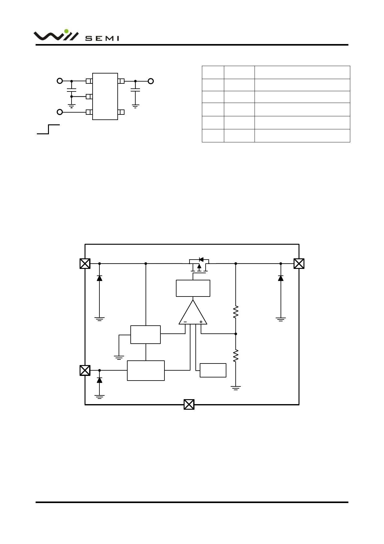 WL2803E pdf, schematic