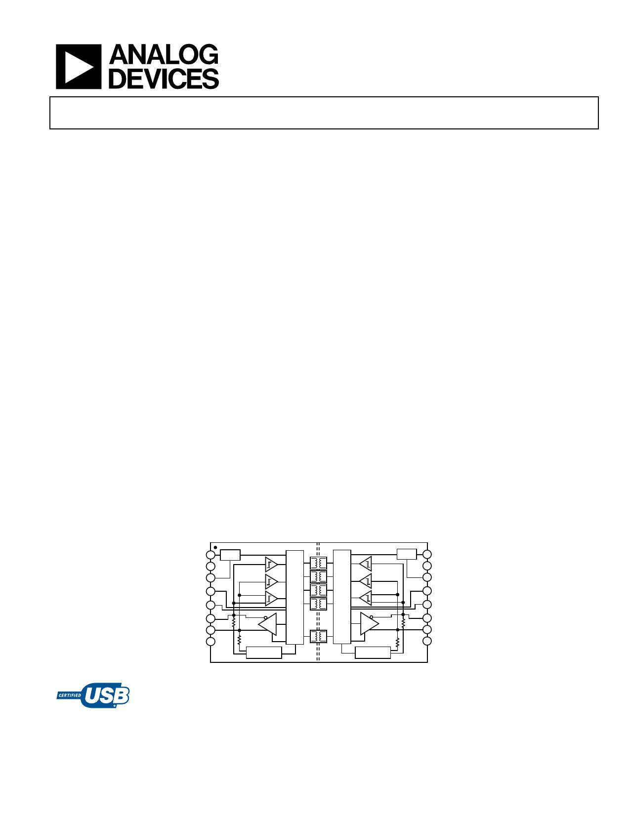 ADUM3160 دیتاشیت PDF