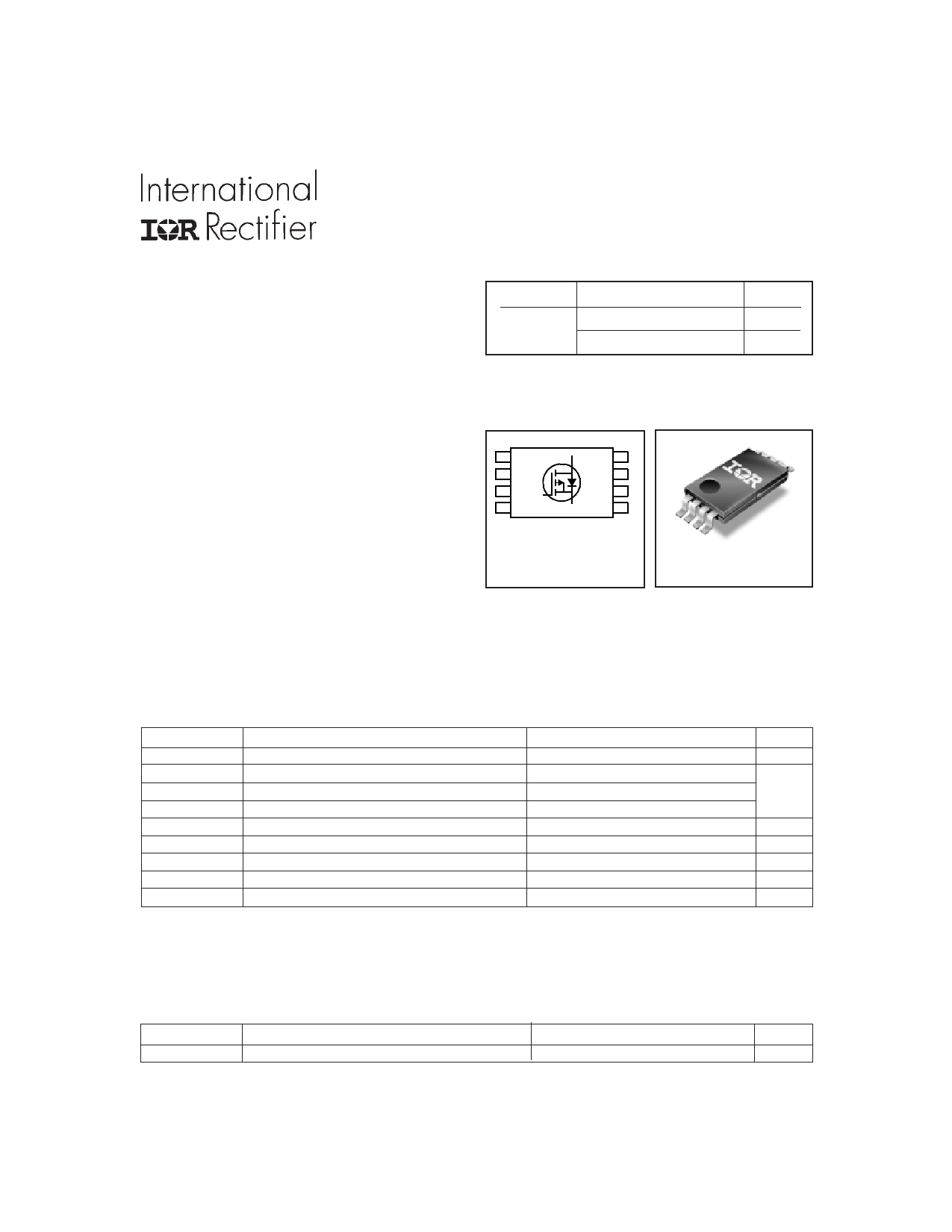 IRF7707 دیتاشیت PDF