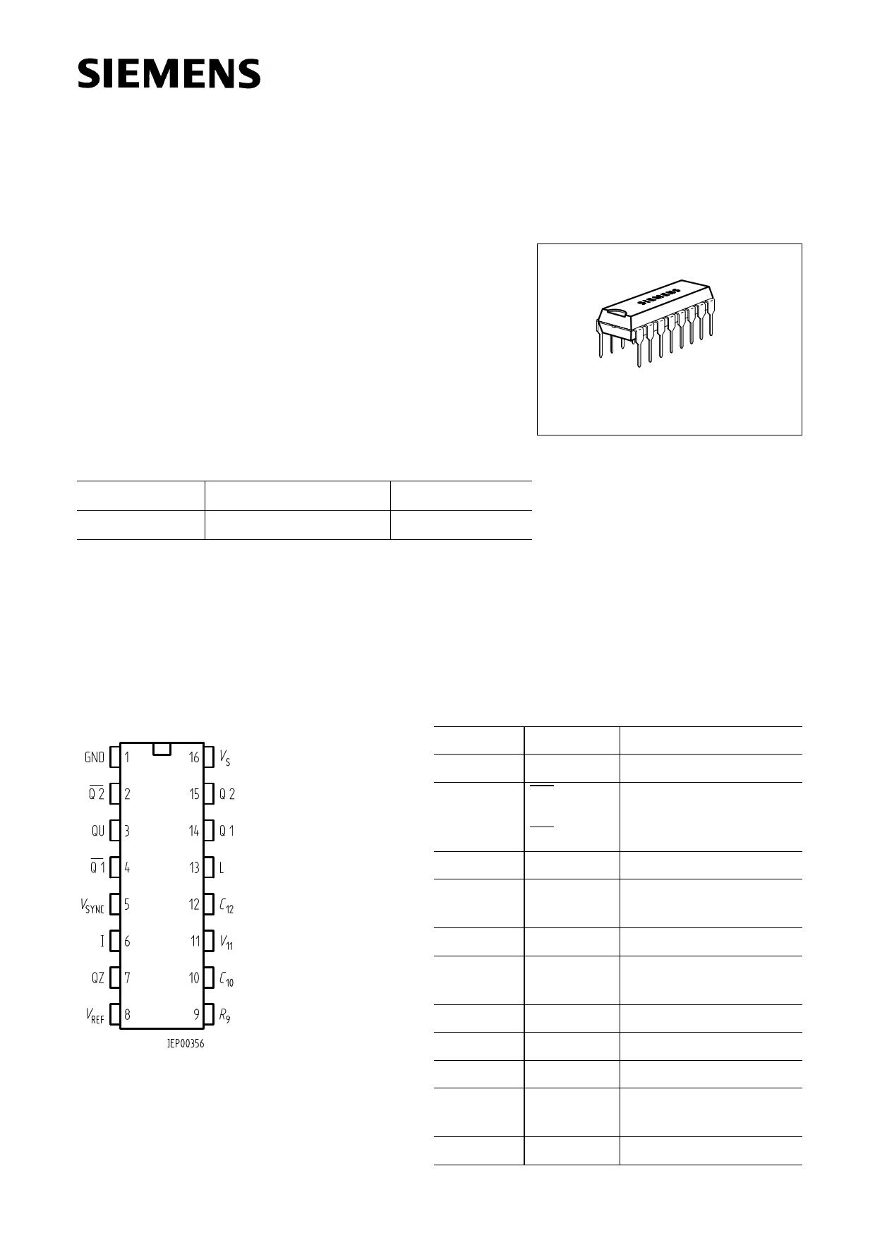 TCA785 datasheet