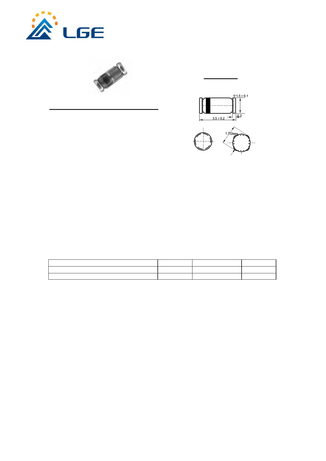 BZV55B51 Datasheet, BZV55B51 PDF,ピン配置, 機能