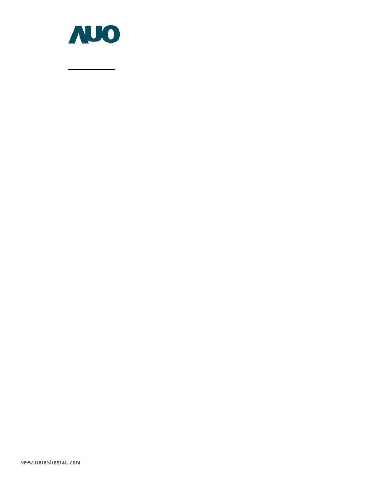 G084SN05-V2 pdf, ピン配列