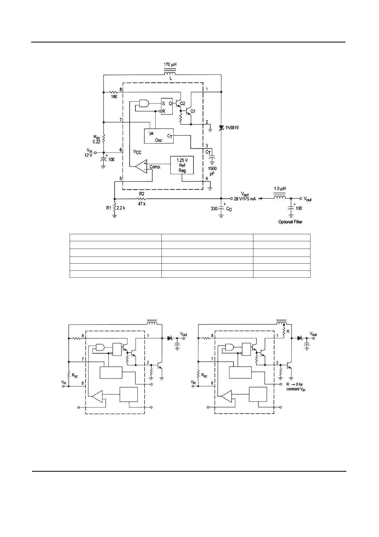 TD34063 Datasheet, Funktion