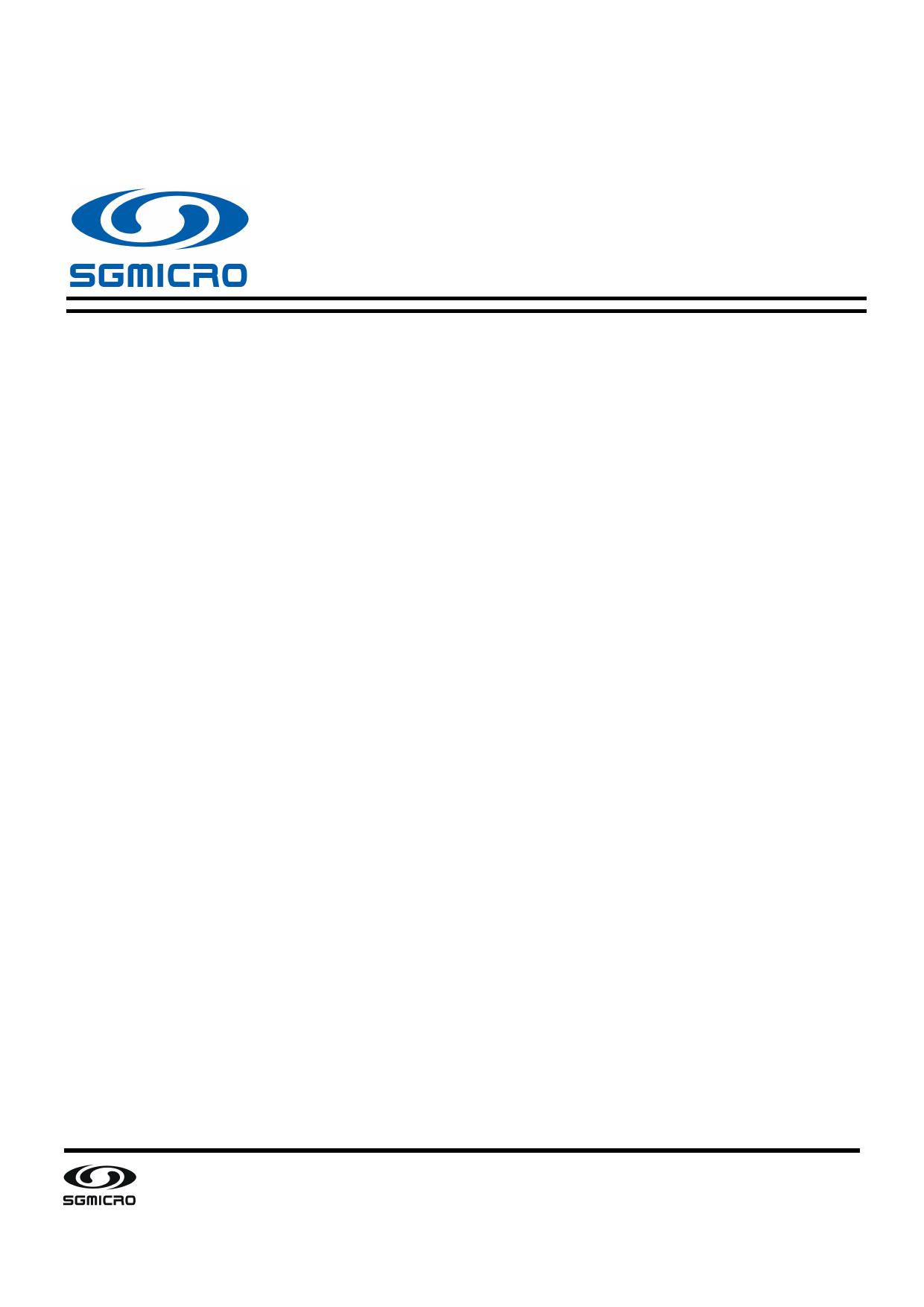 SGM8705 datasheet, circuit