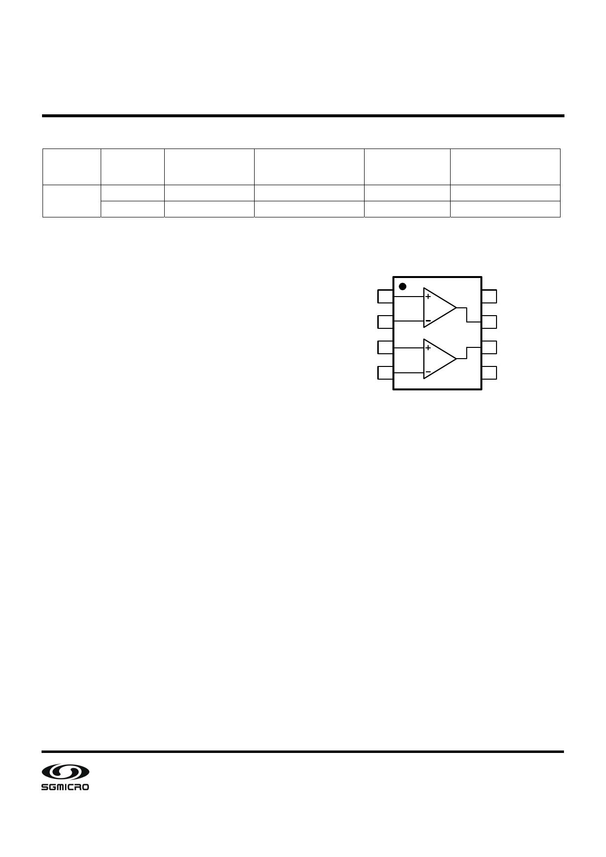 SGM8705 pdf, schematic