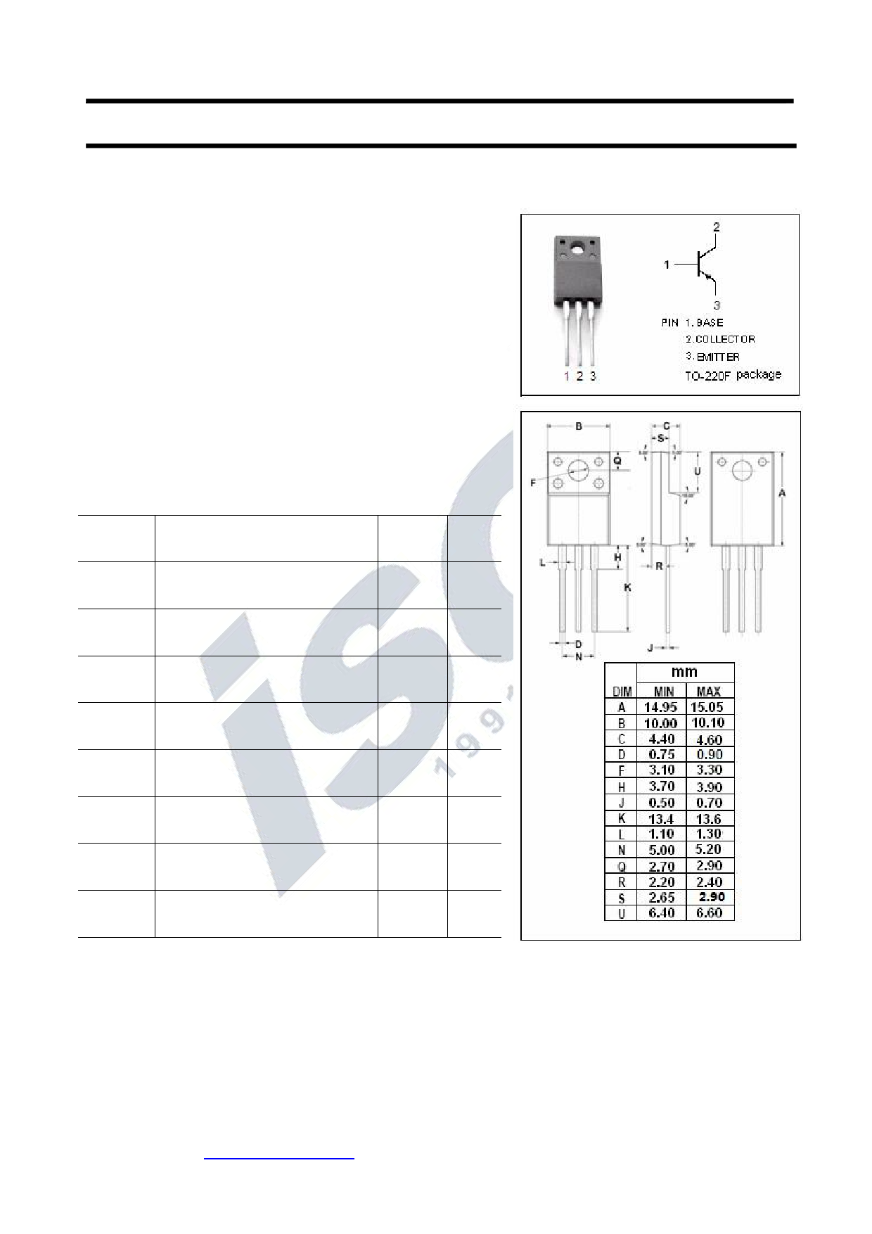 KTA1659A Datasheet, KTA1659A PDF,ピン配置, 機能