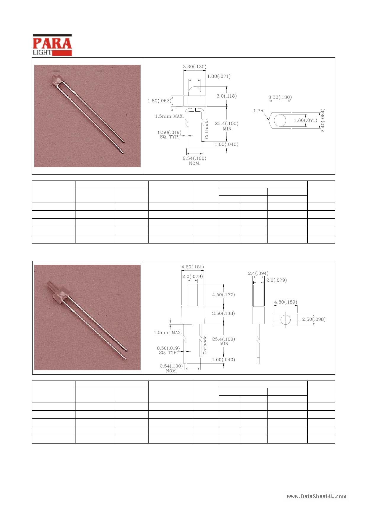 L-204SRD دیتاشیت PDF