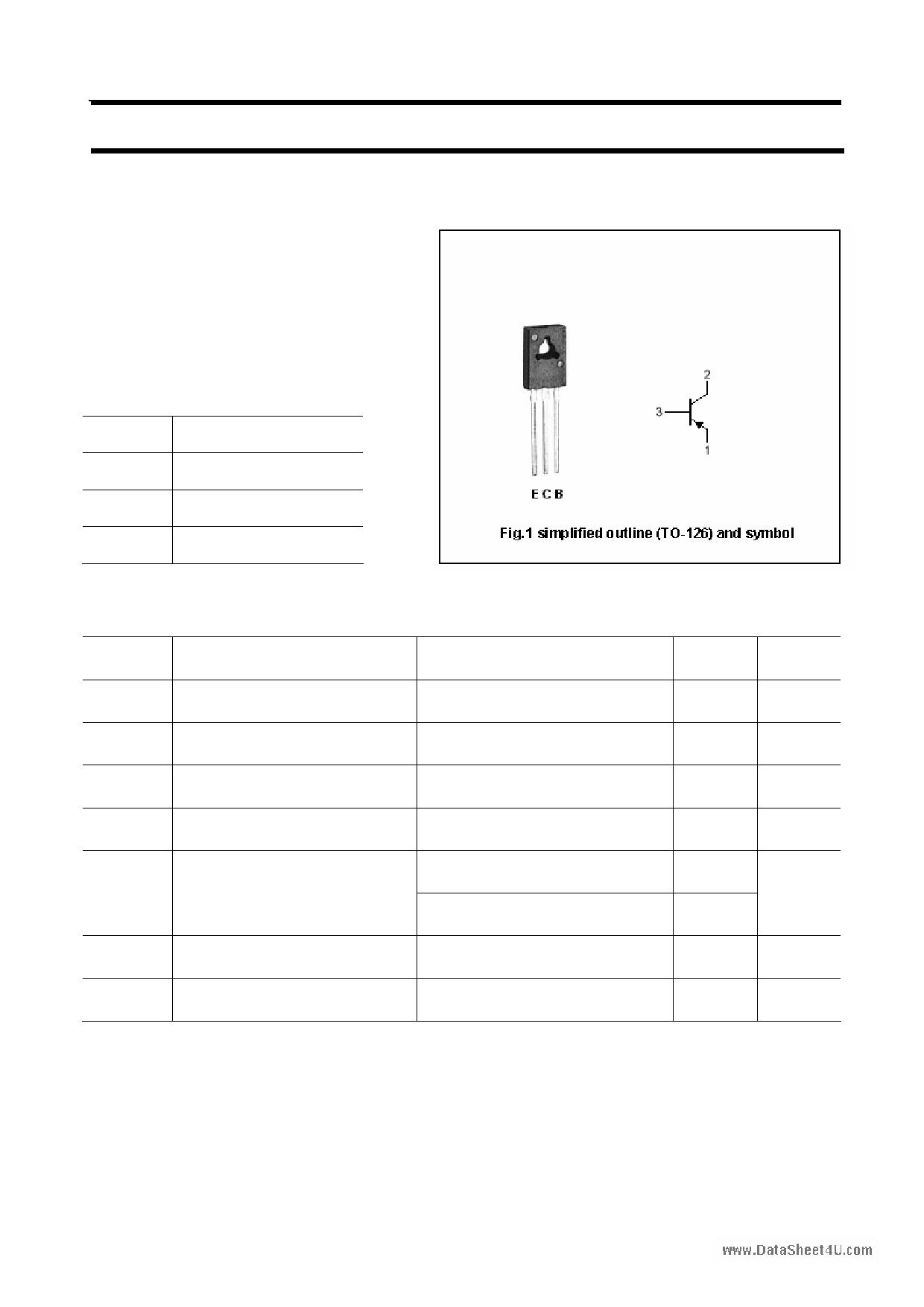 2SB1007 دیتاشیت PDF