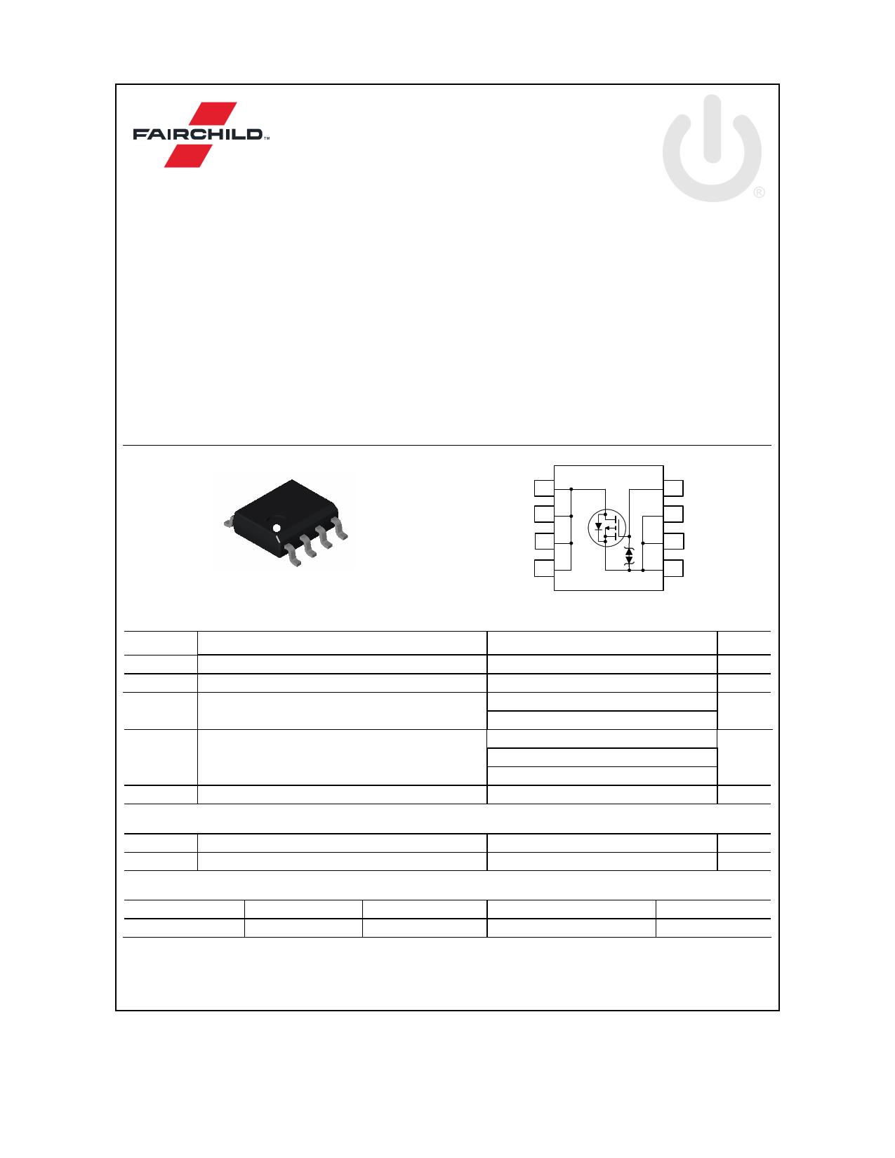 FDS6681Z 데이터시트 및 FDS6681Z PDF