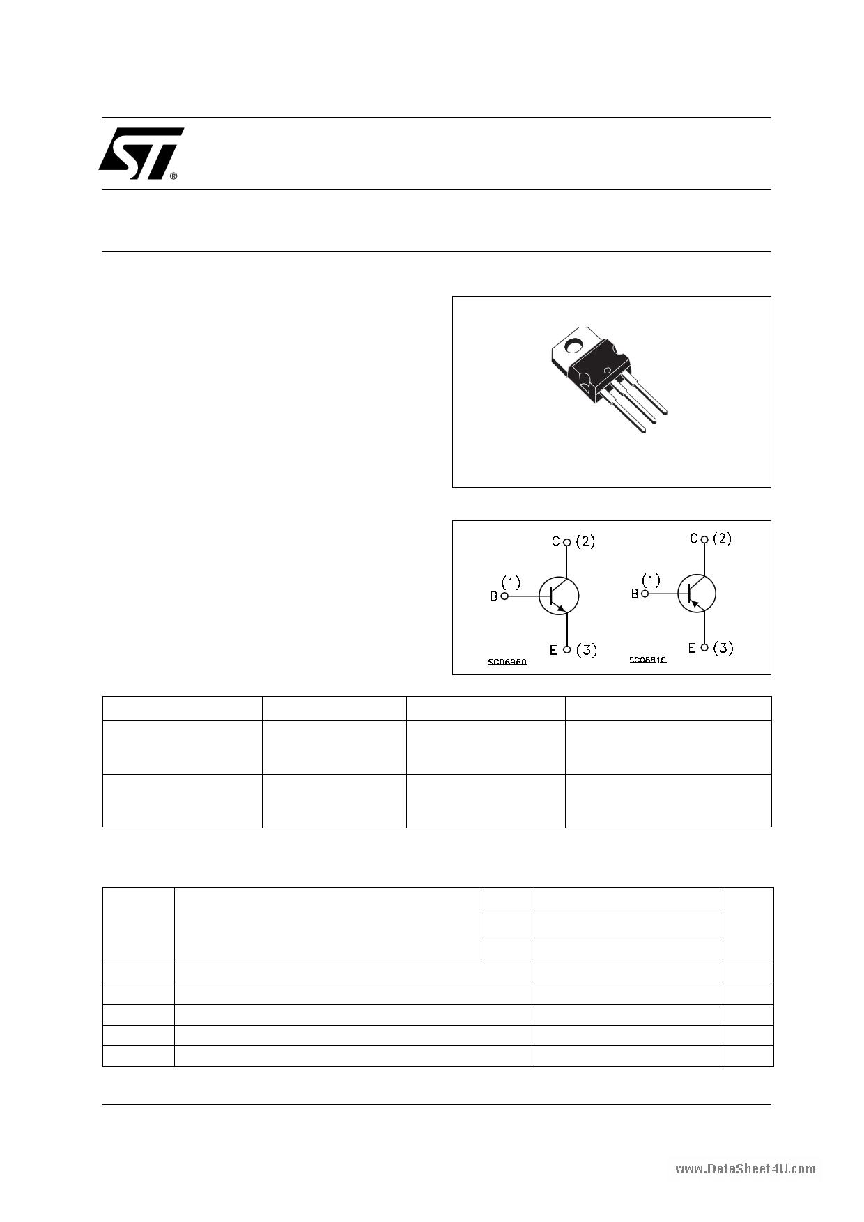 TIP41CN دیتاشیت PDF
