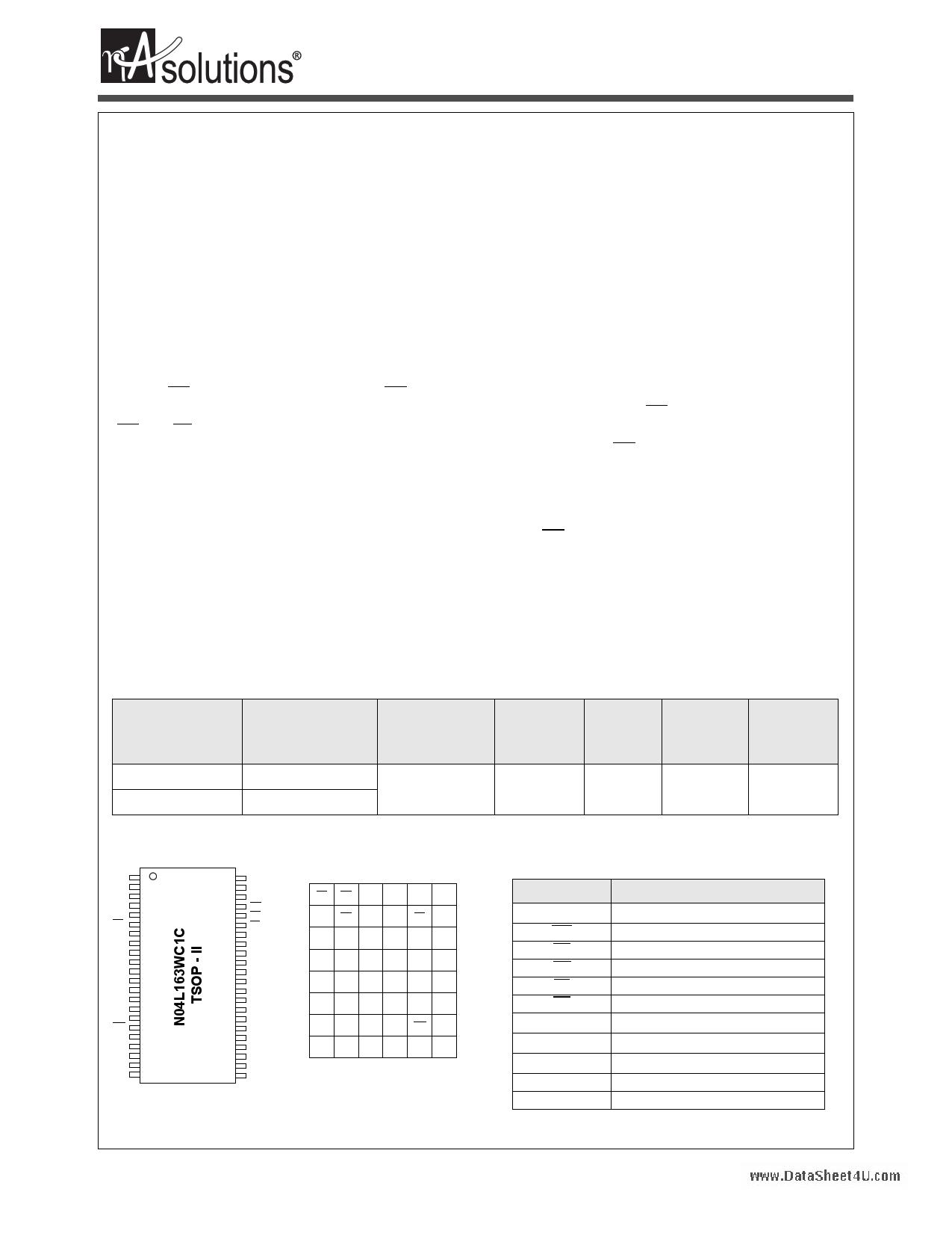 N04L163WC1C دیتاشیت PDF