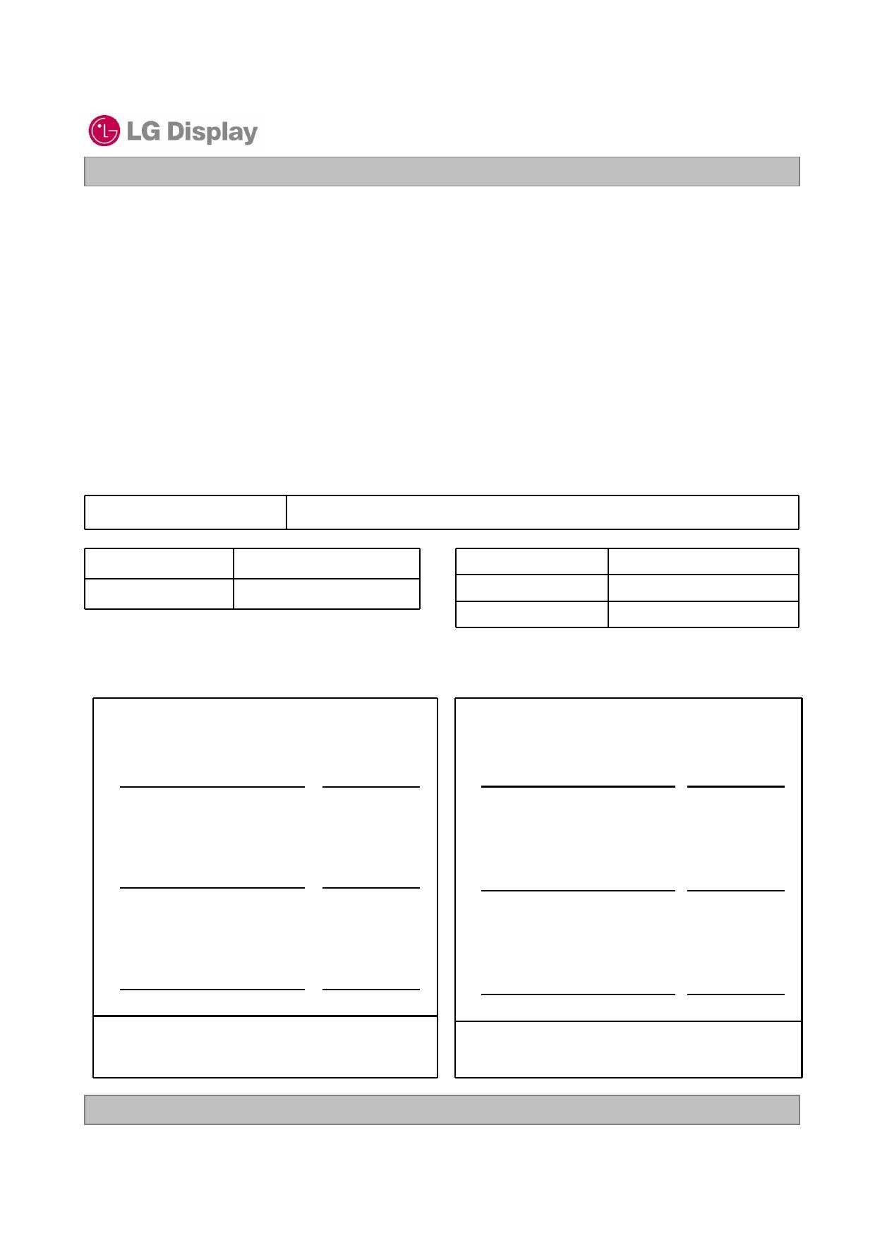 LC320EXN-SEA3 datasheet