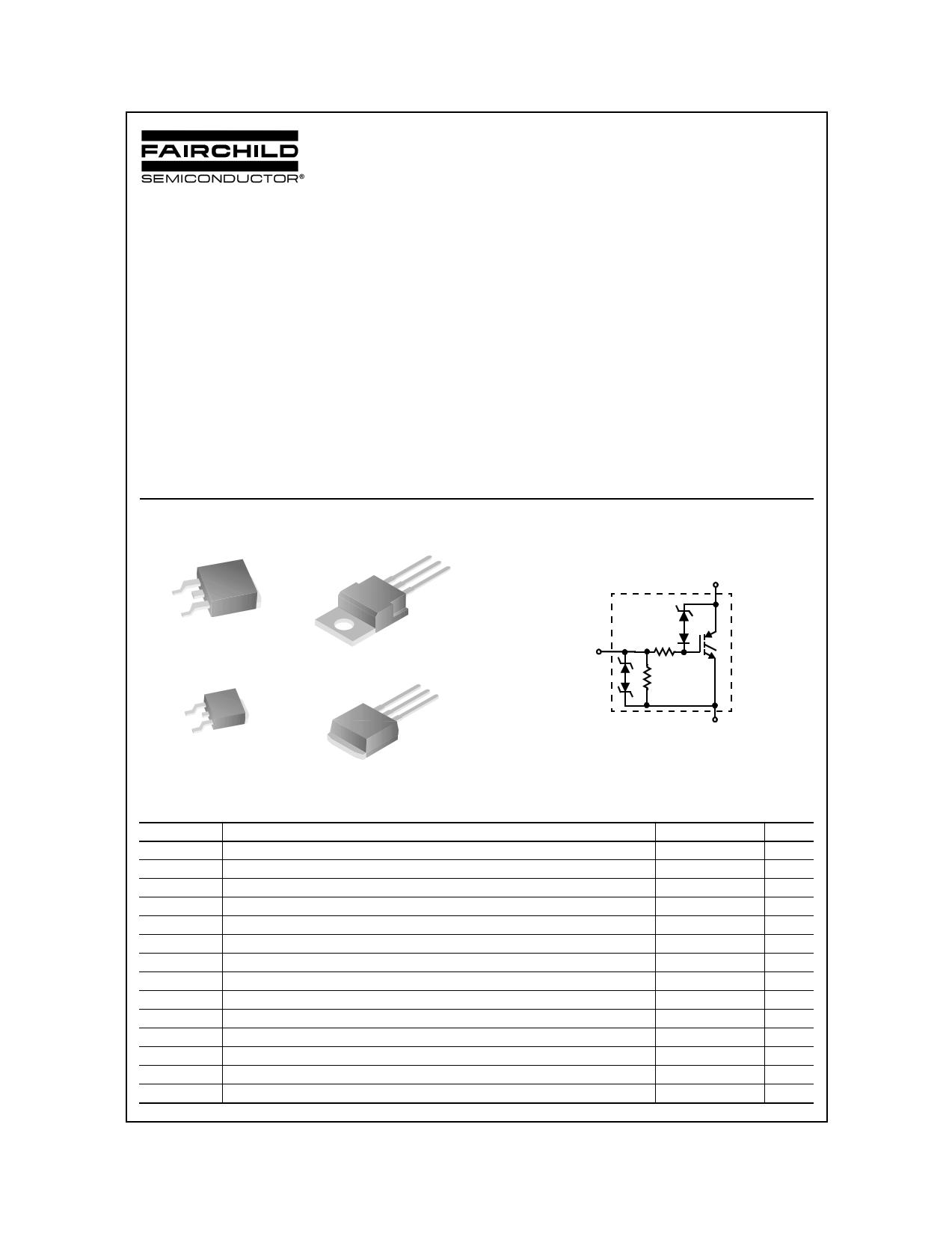 ISL9V3040D3S 데이터시트 및 ISL9V3040D3S PDF