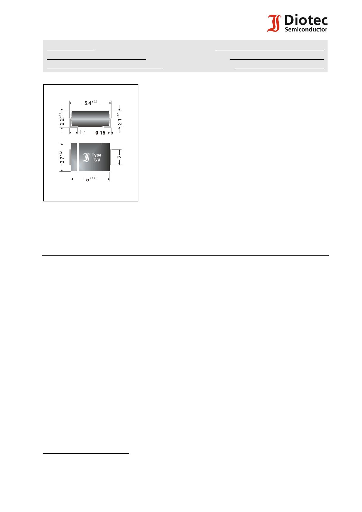 P6SMBJ54 دیتاشیت PDF