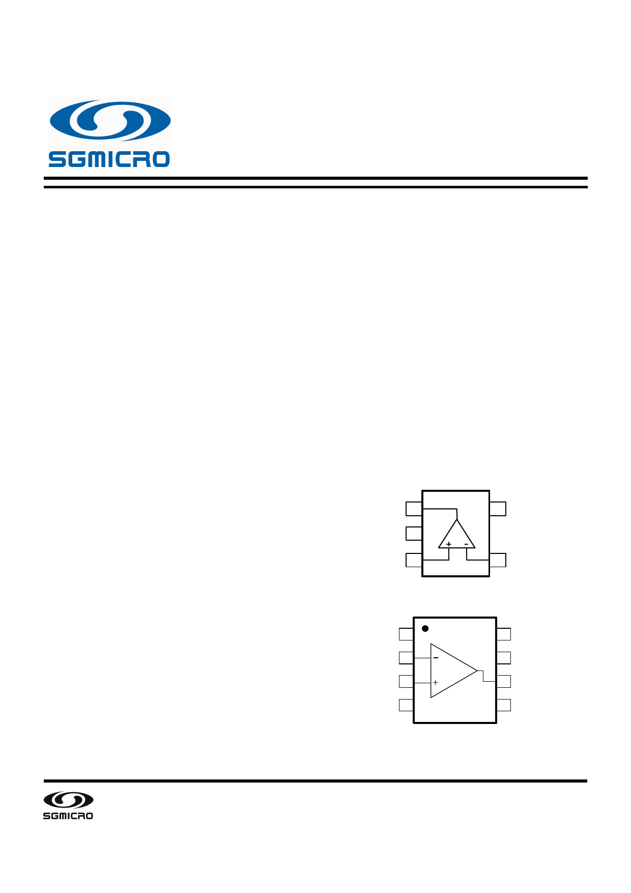 SGM8581 datasheet, circuit