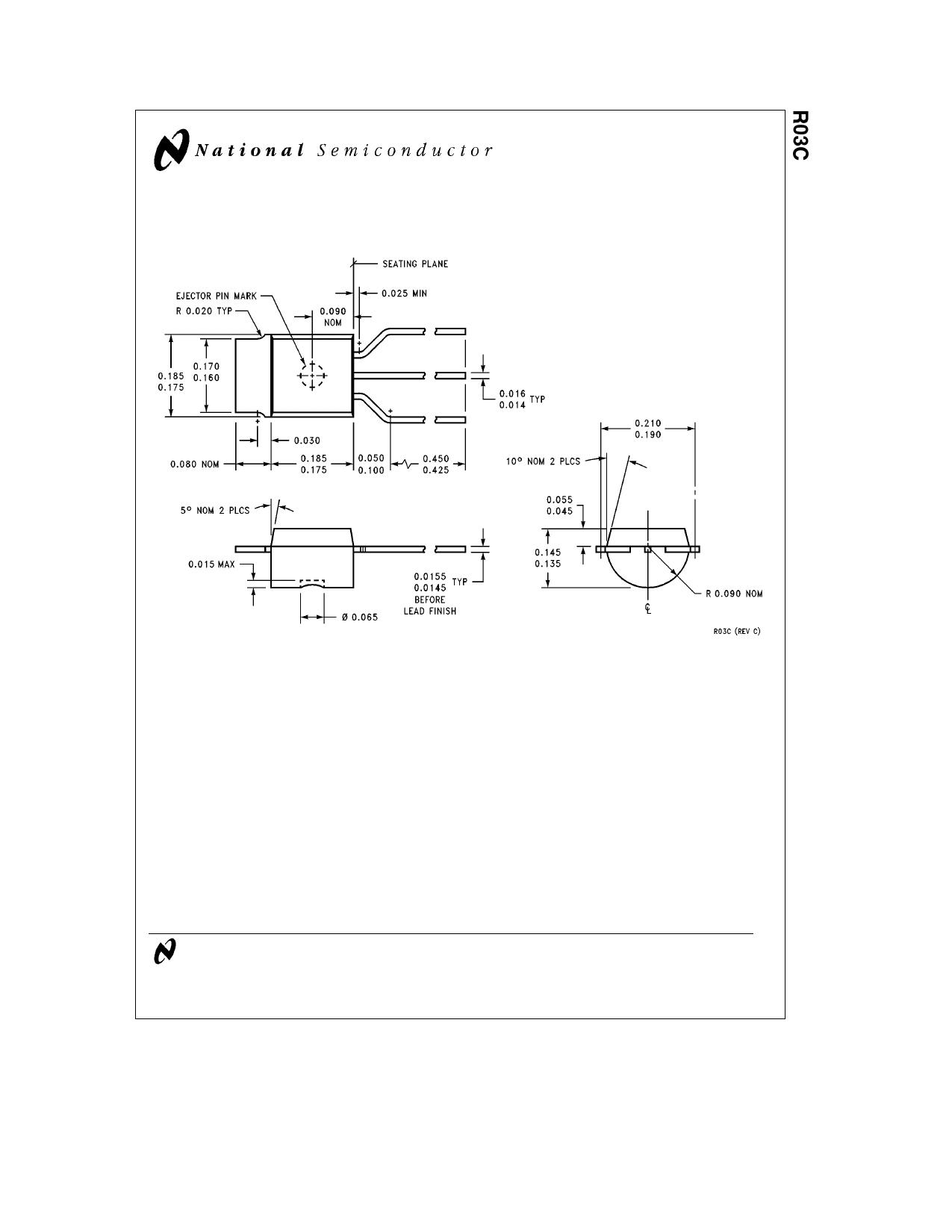 R03C دیتاشیت PDF