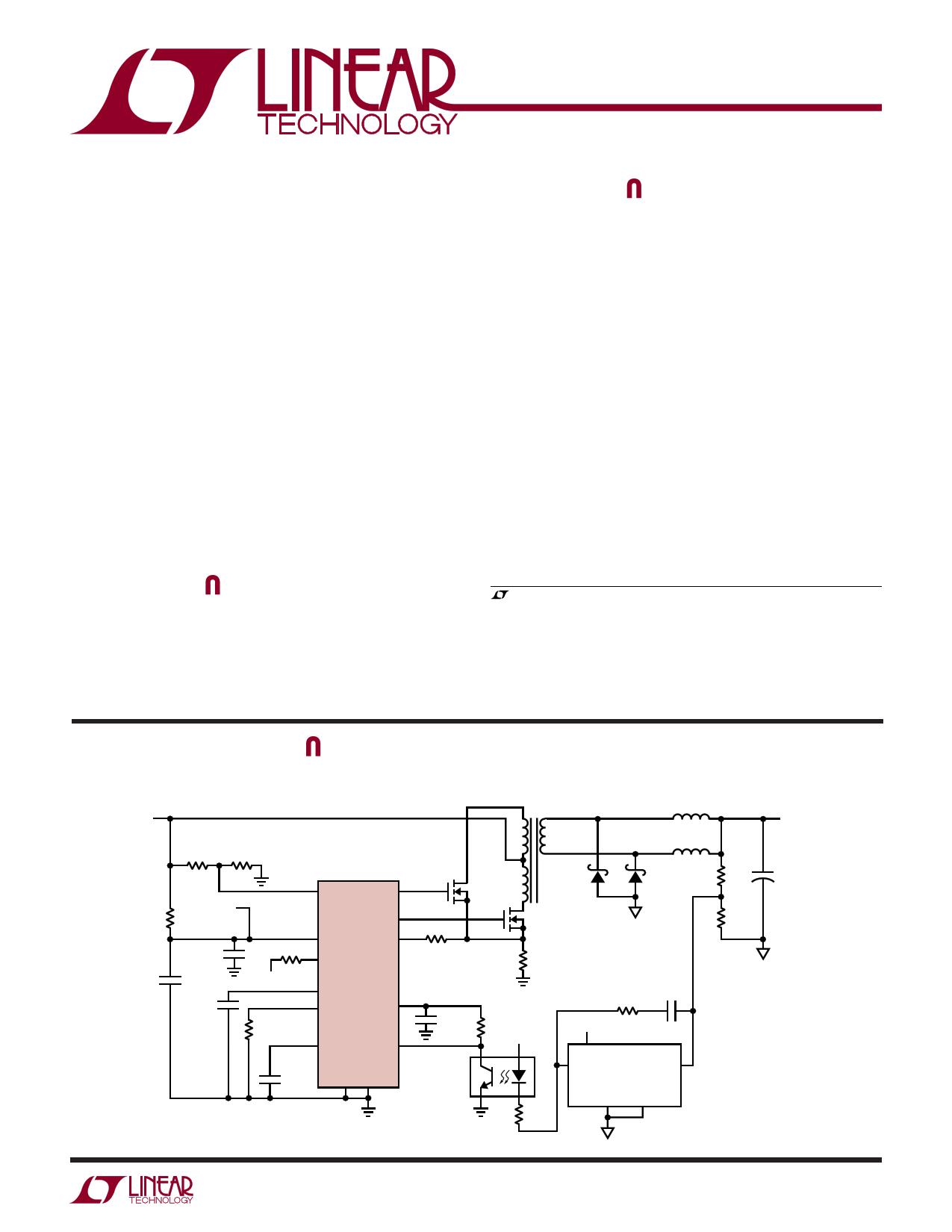 LTC3721-1 Datasheet, LTC3721-1 PDF,ピン配置, 機能