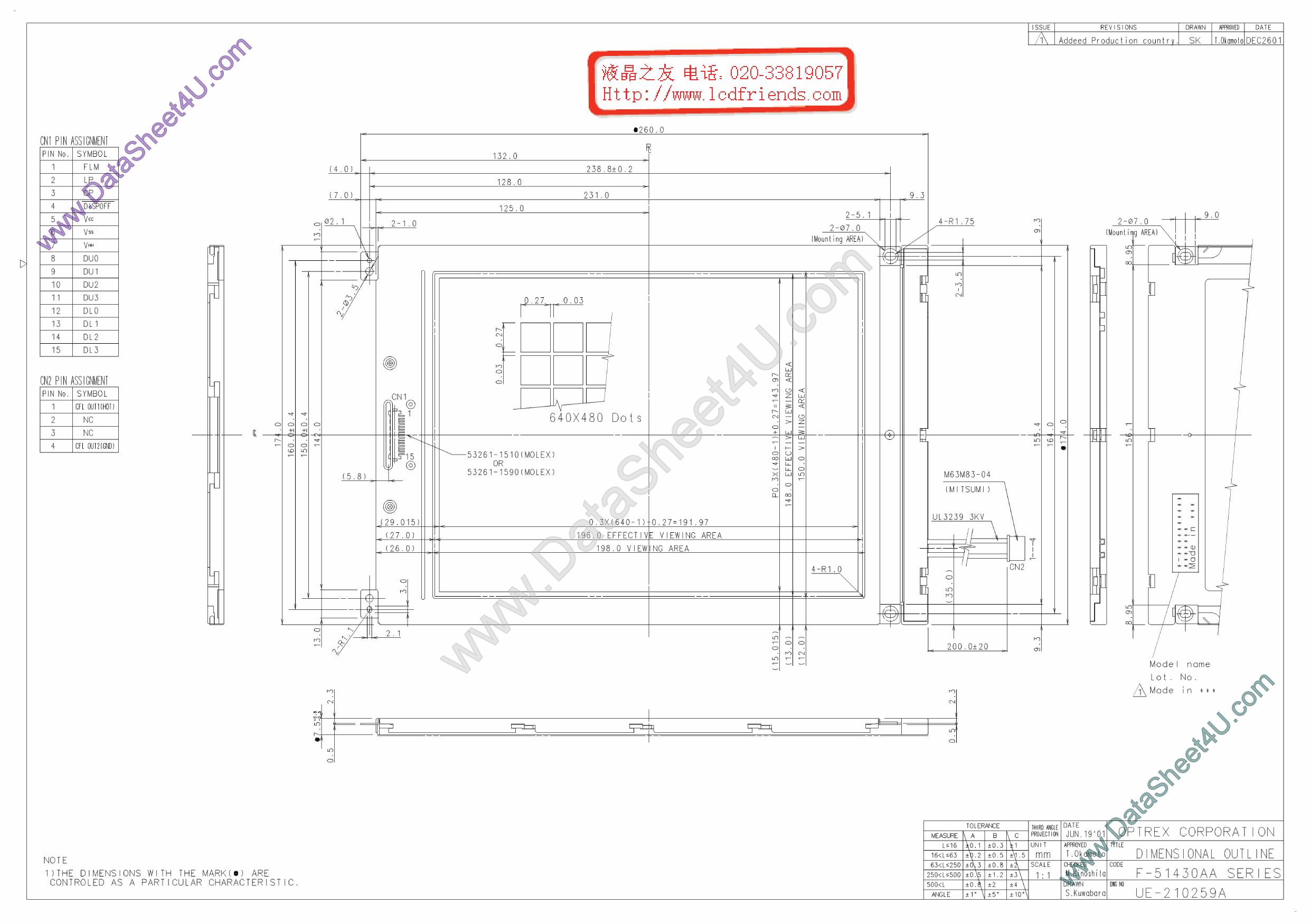 F-51430AA دیتاشیت PDF