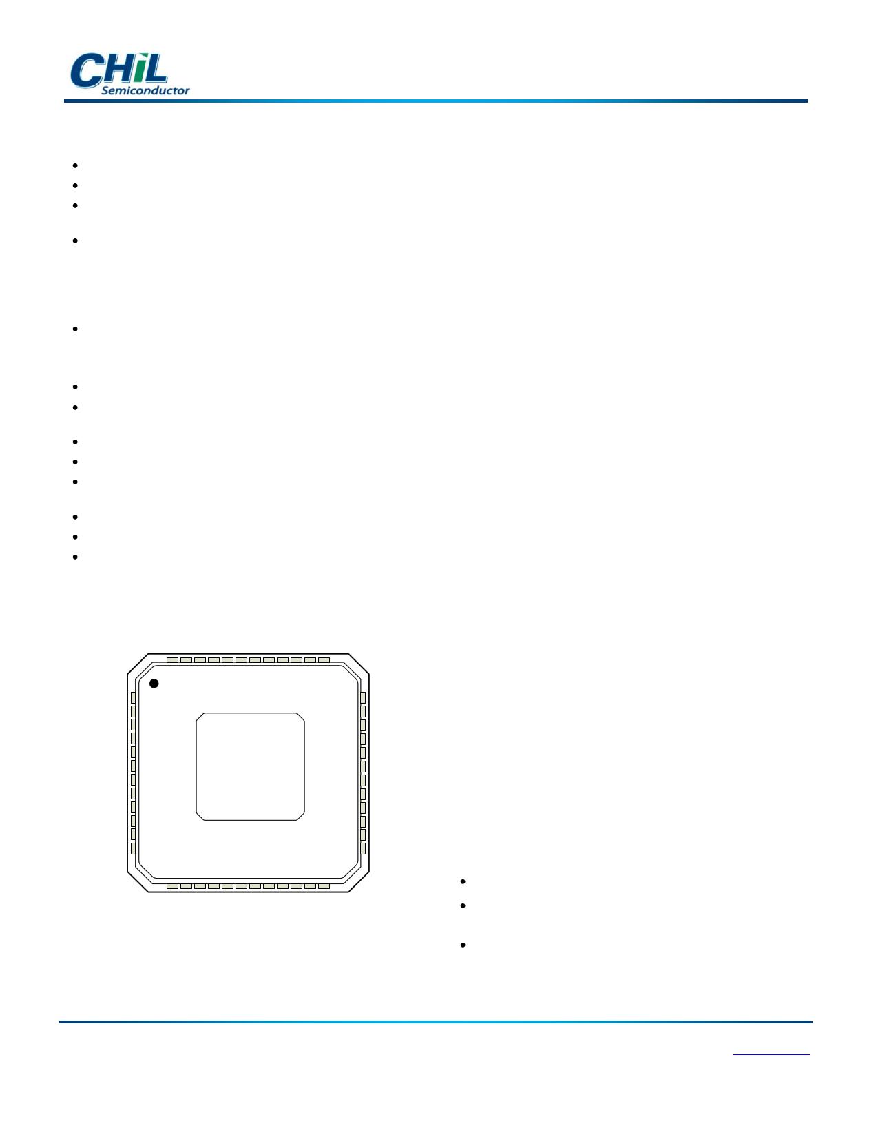 CHL8316 دیتاشیت PDF