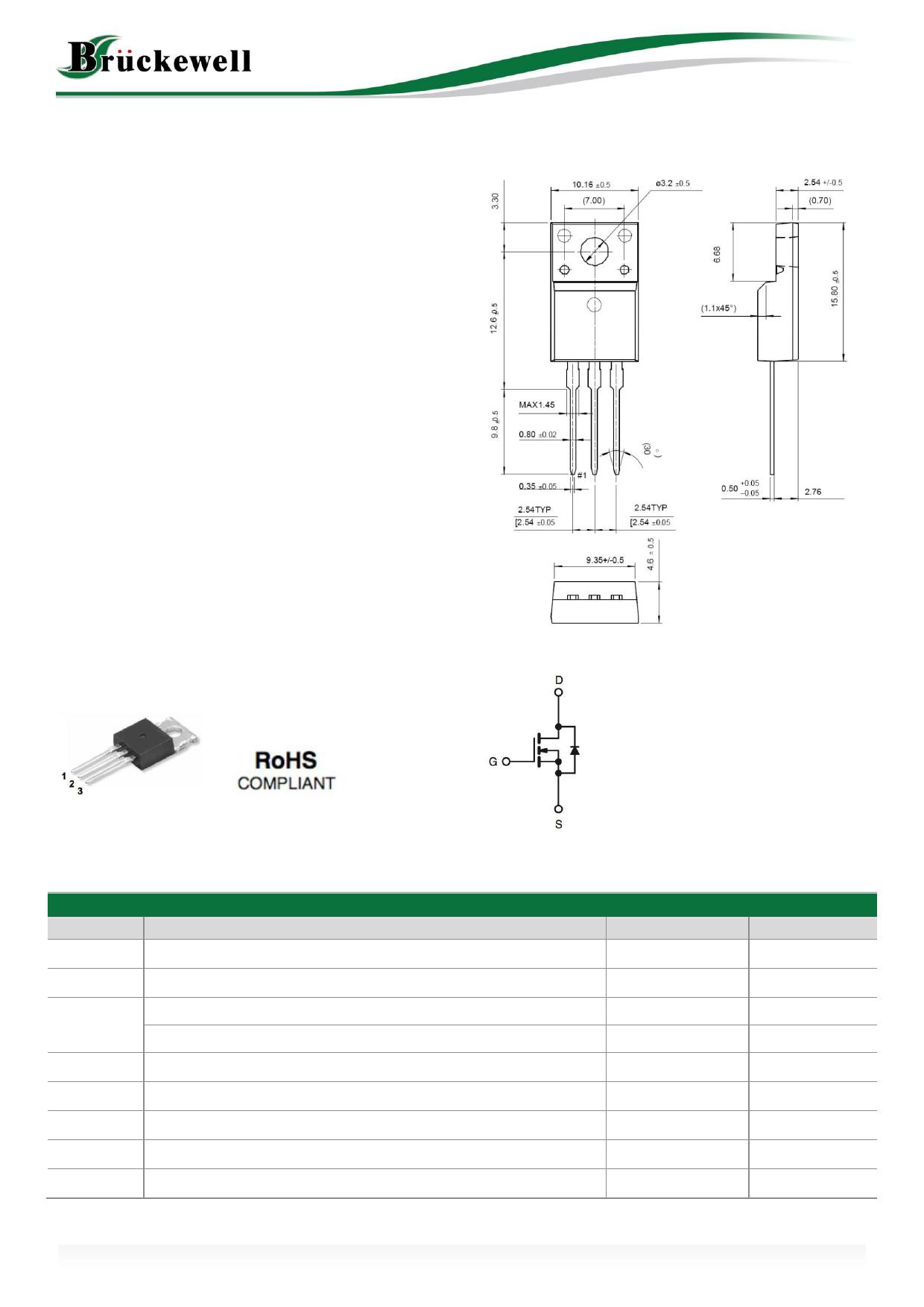 MS12N60 دیتاشیت PDF