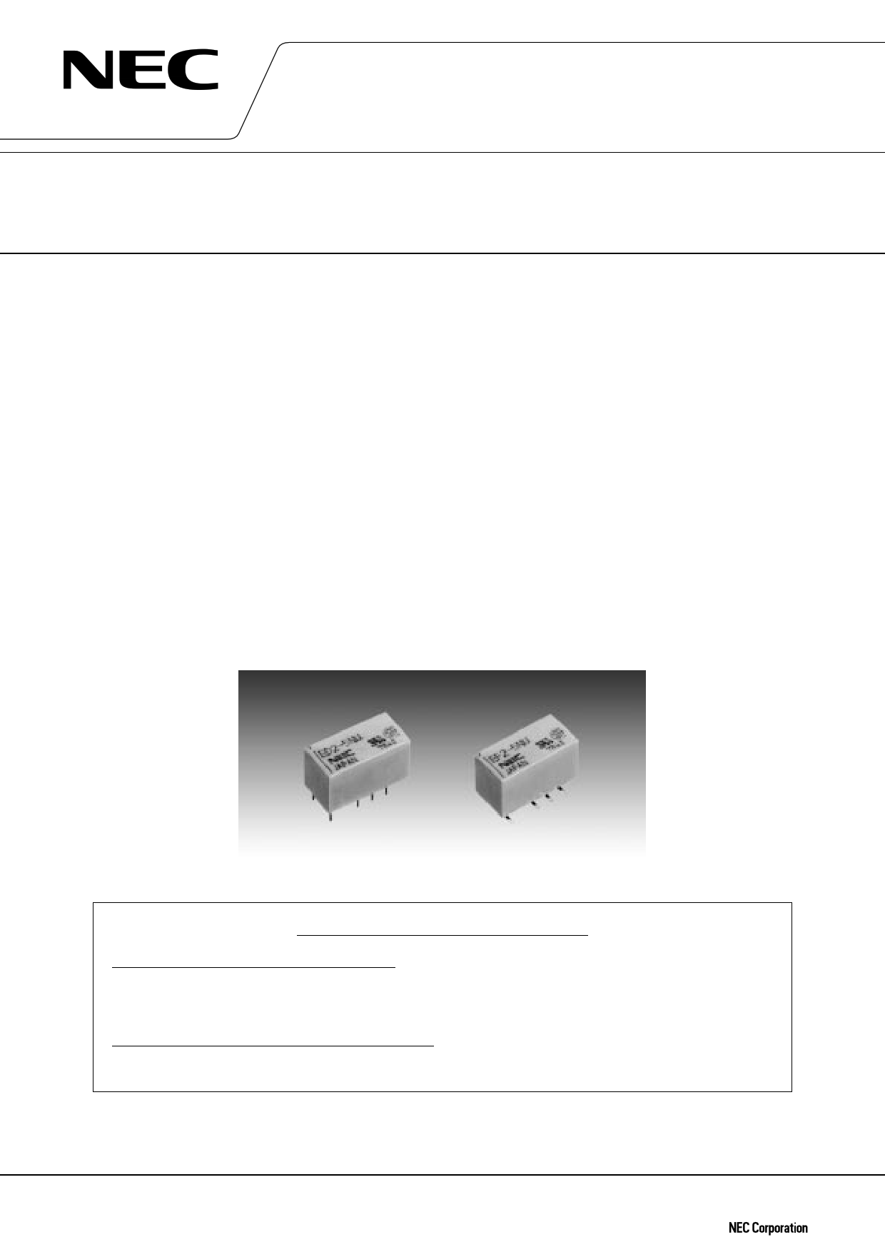 ED2-3TNJ دیتاشیت PDF