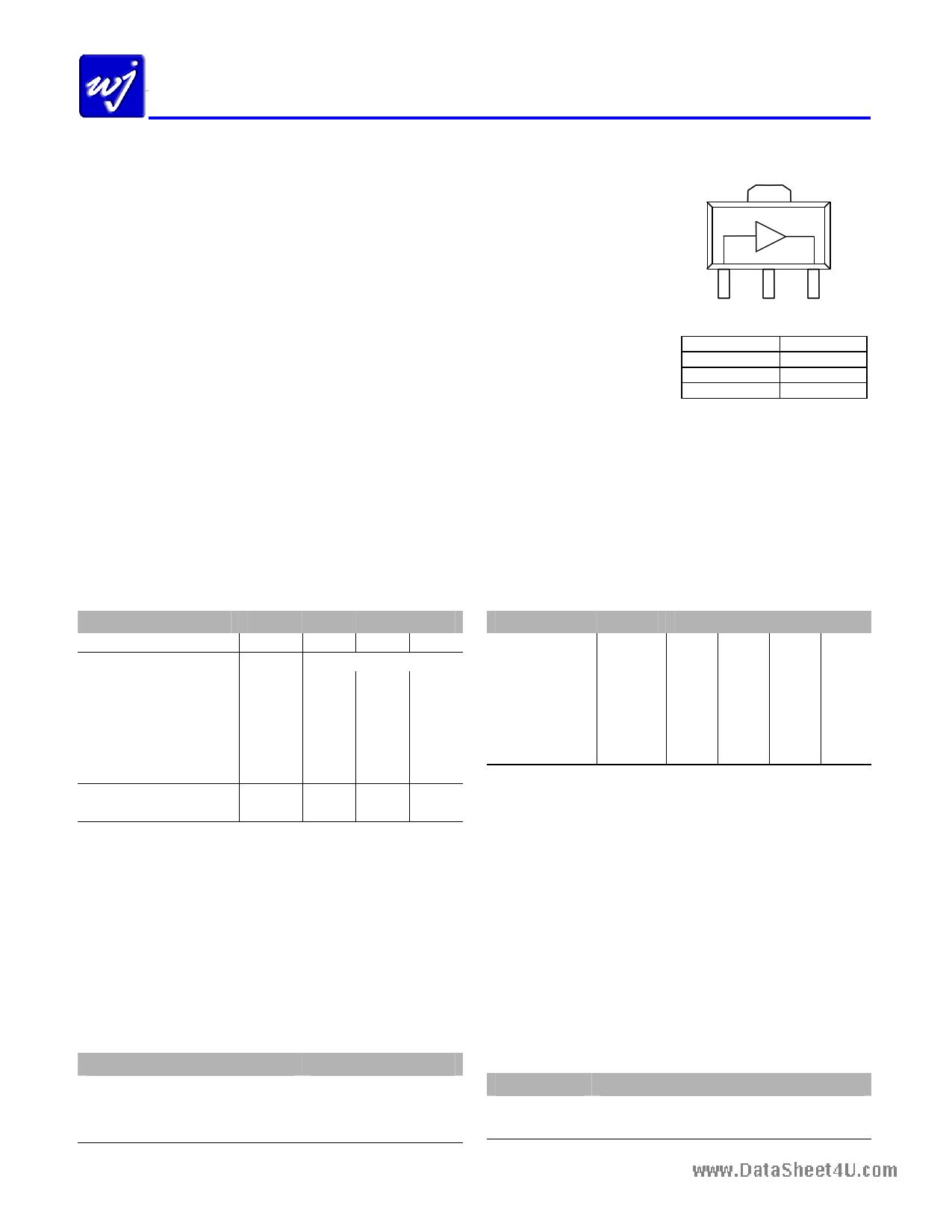 WJA1035 دیتاشیت PDF