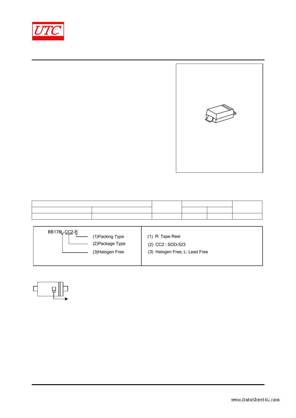BB178 دیتاشیت PDF