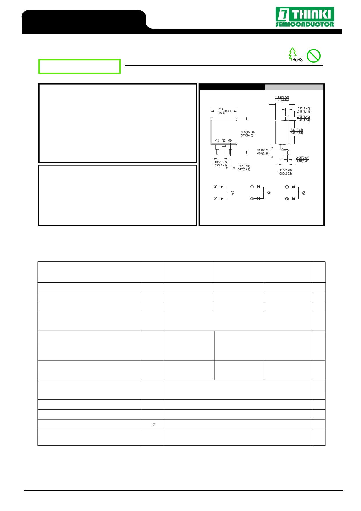 U1620RG دیتاشیت PDF