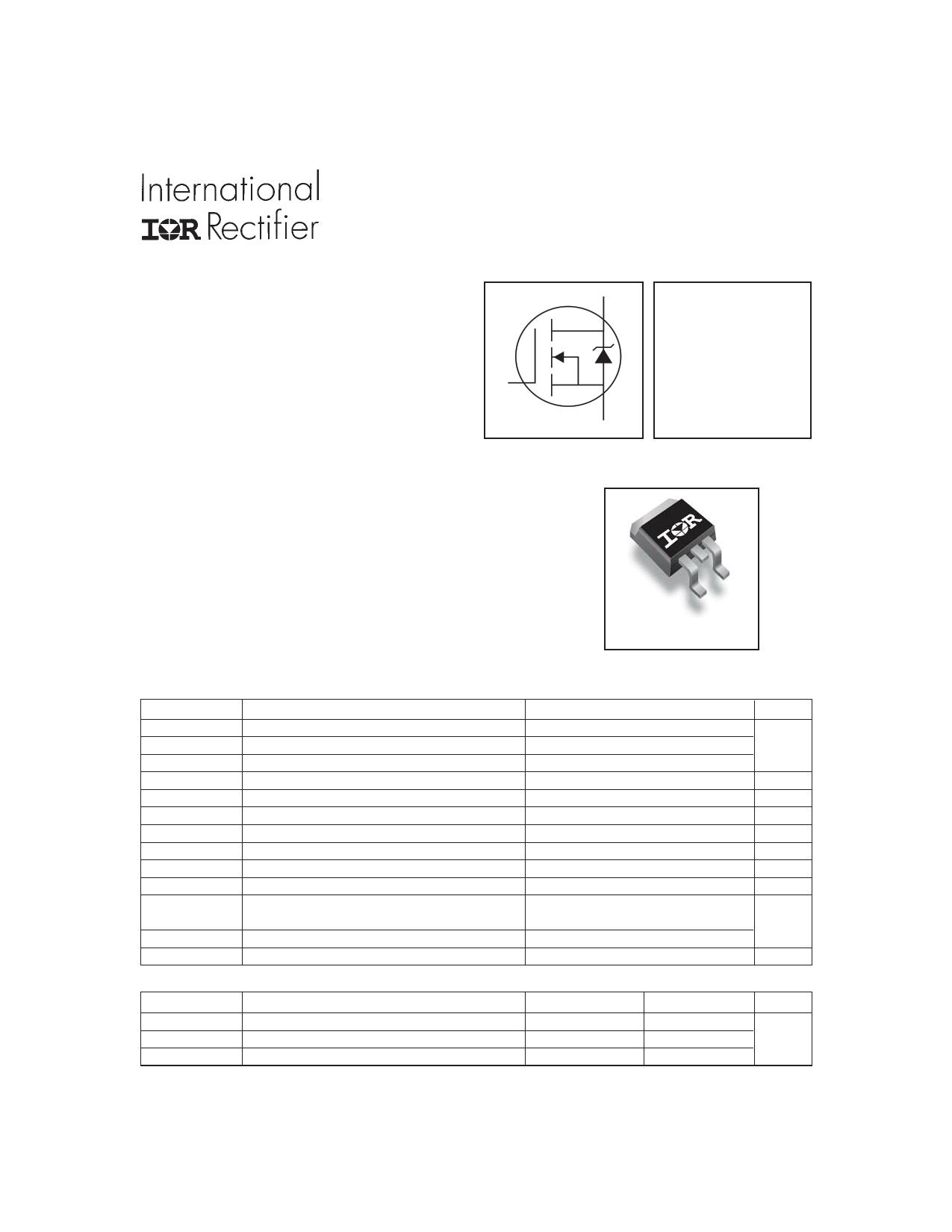 IRFZ48VSPBF Datasheet, IRFZ48VSPBF PDF,ピン配置, 機能