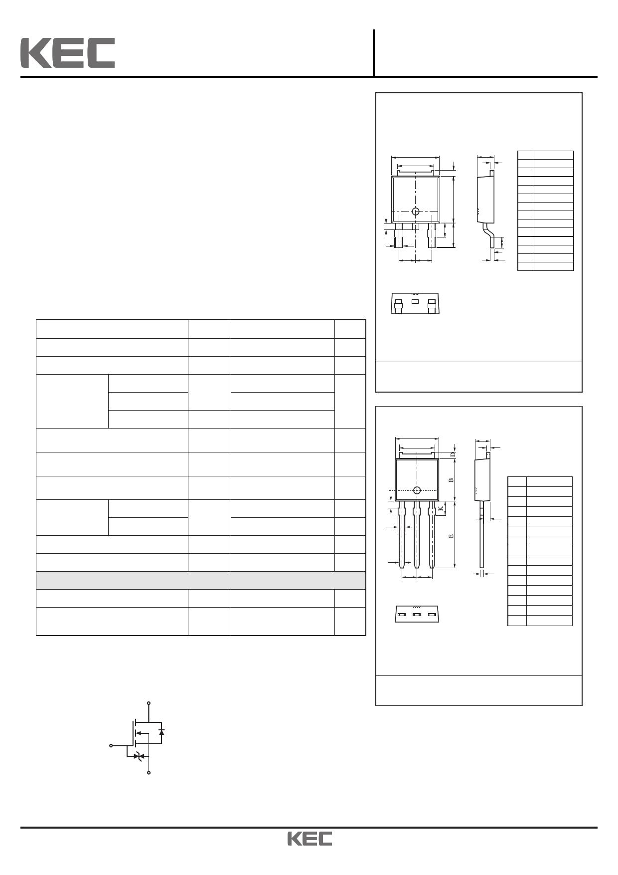 KF3N50IZ datasheet