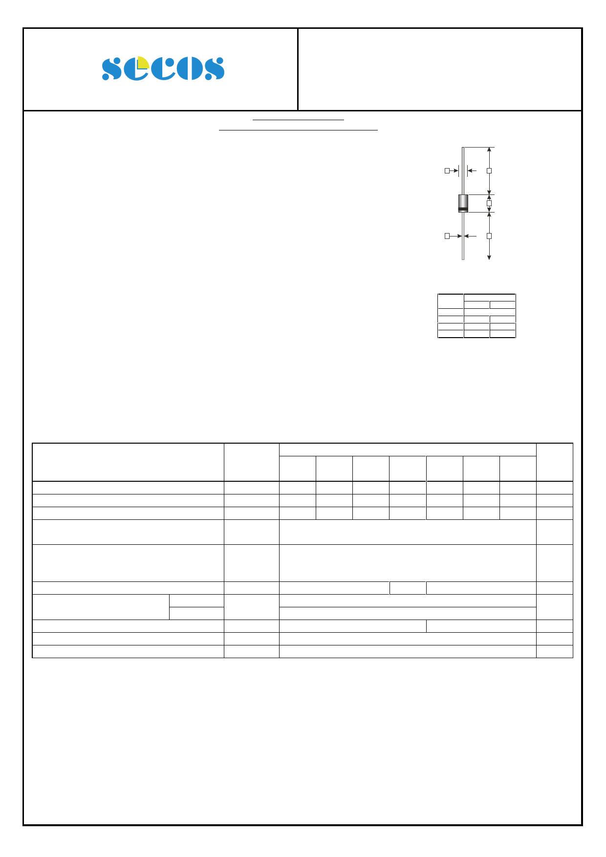 HER504G Datasheet, HER504G PDF,ピン配置, 機能