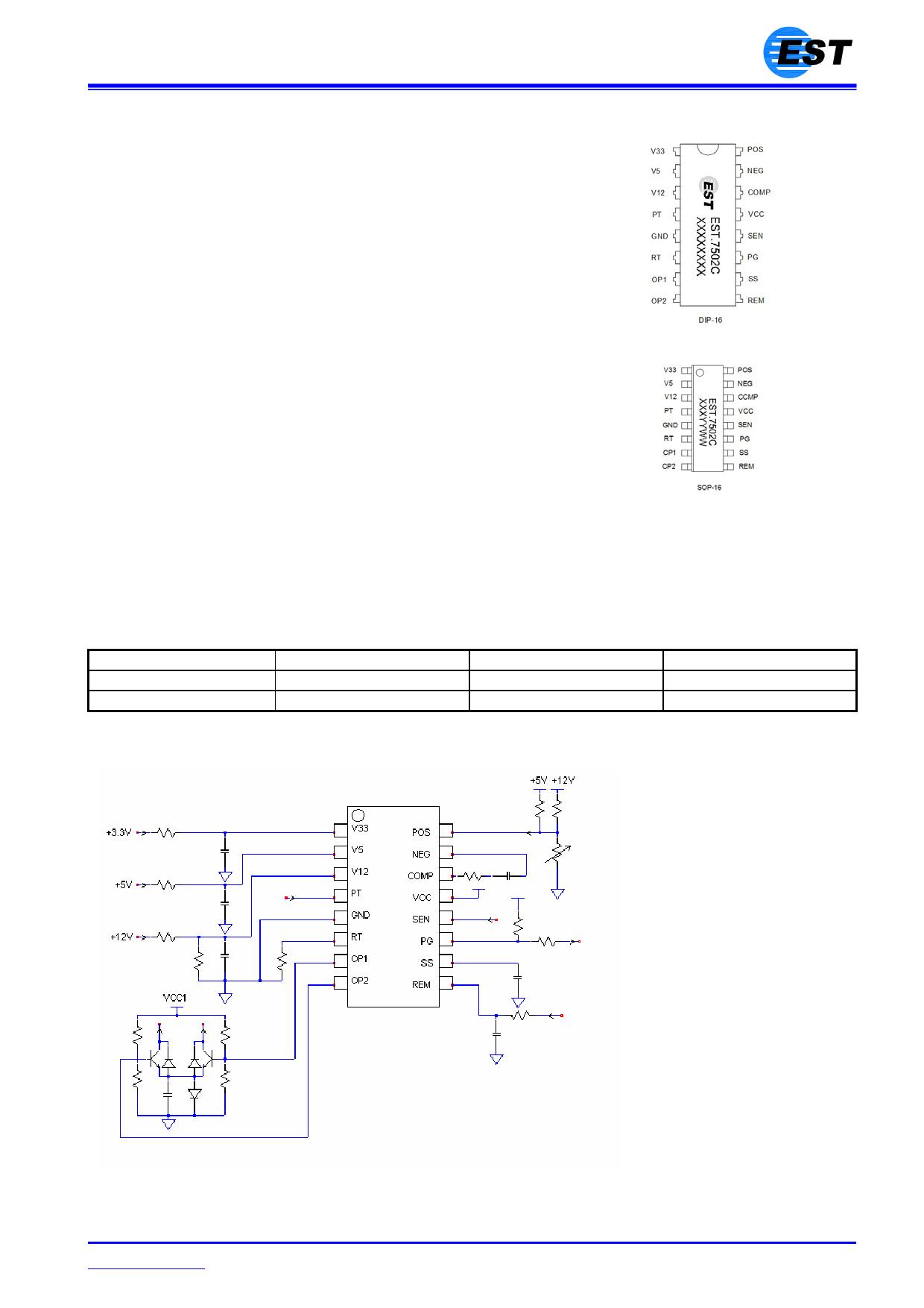 EST7502C image