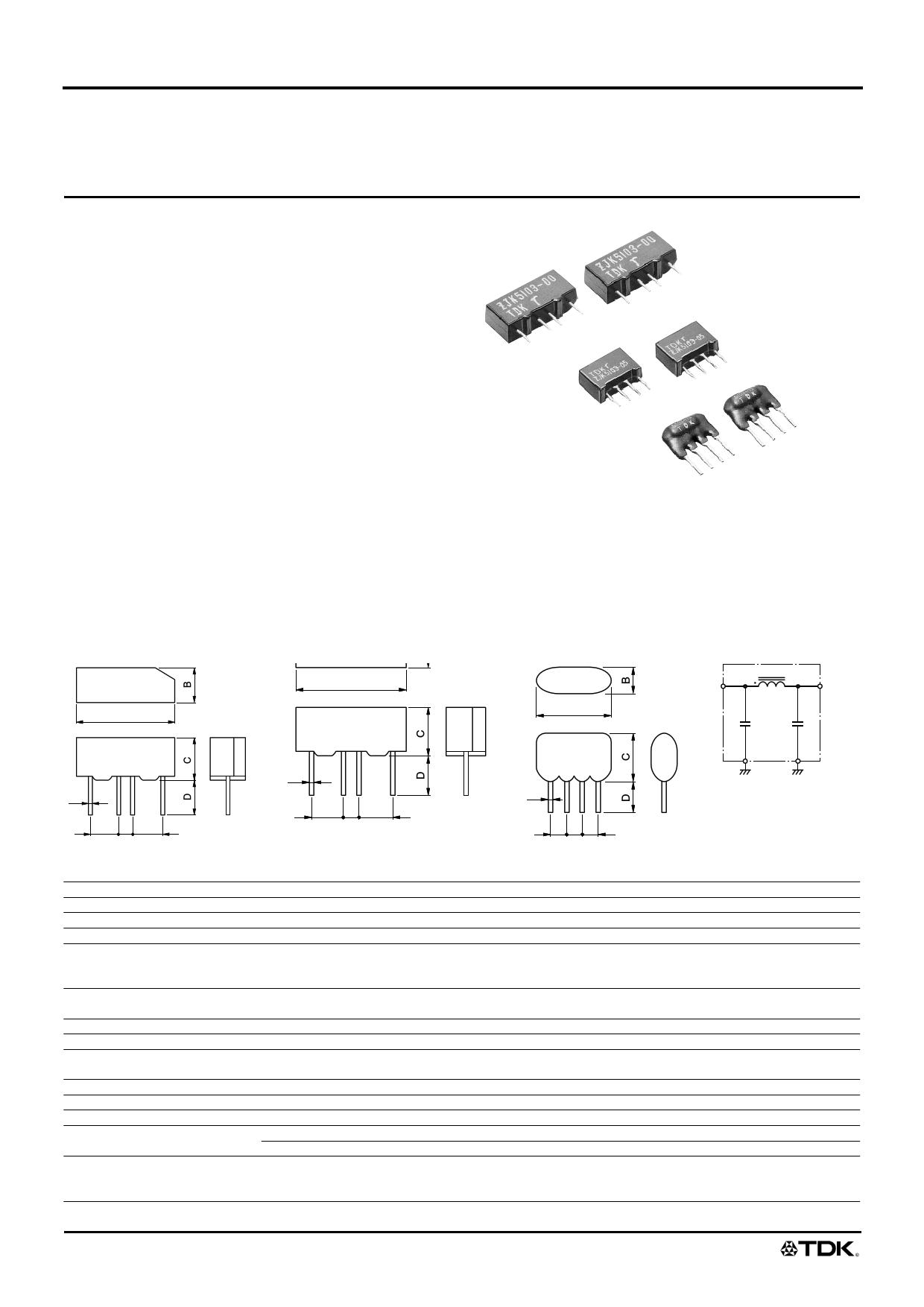 ZJK51R5-00 دیتاشیت PDF