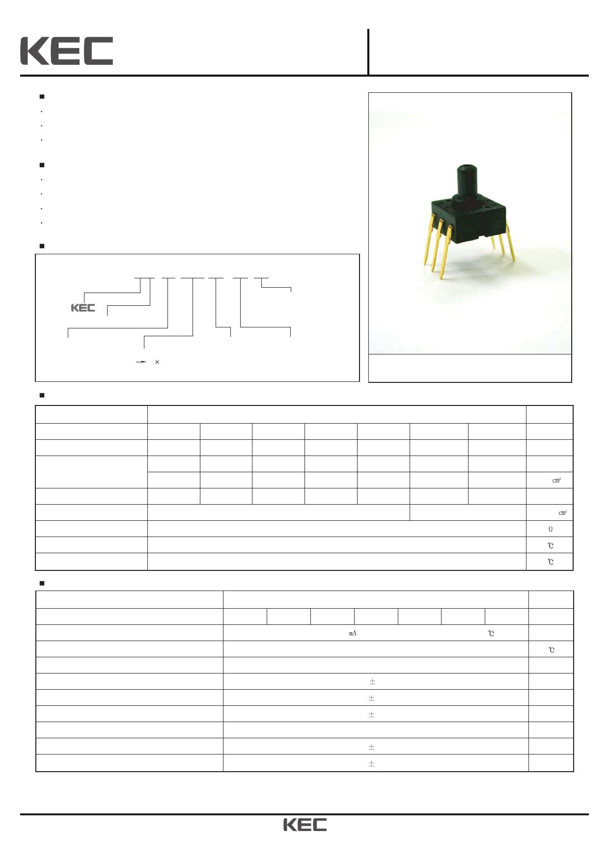 KPF801G01A 데이터시트 및 KPF801G01A PDF