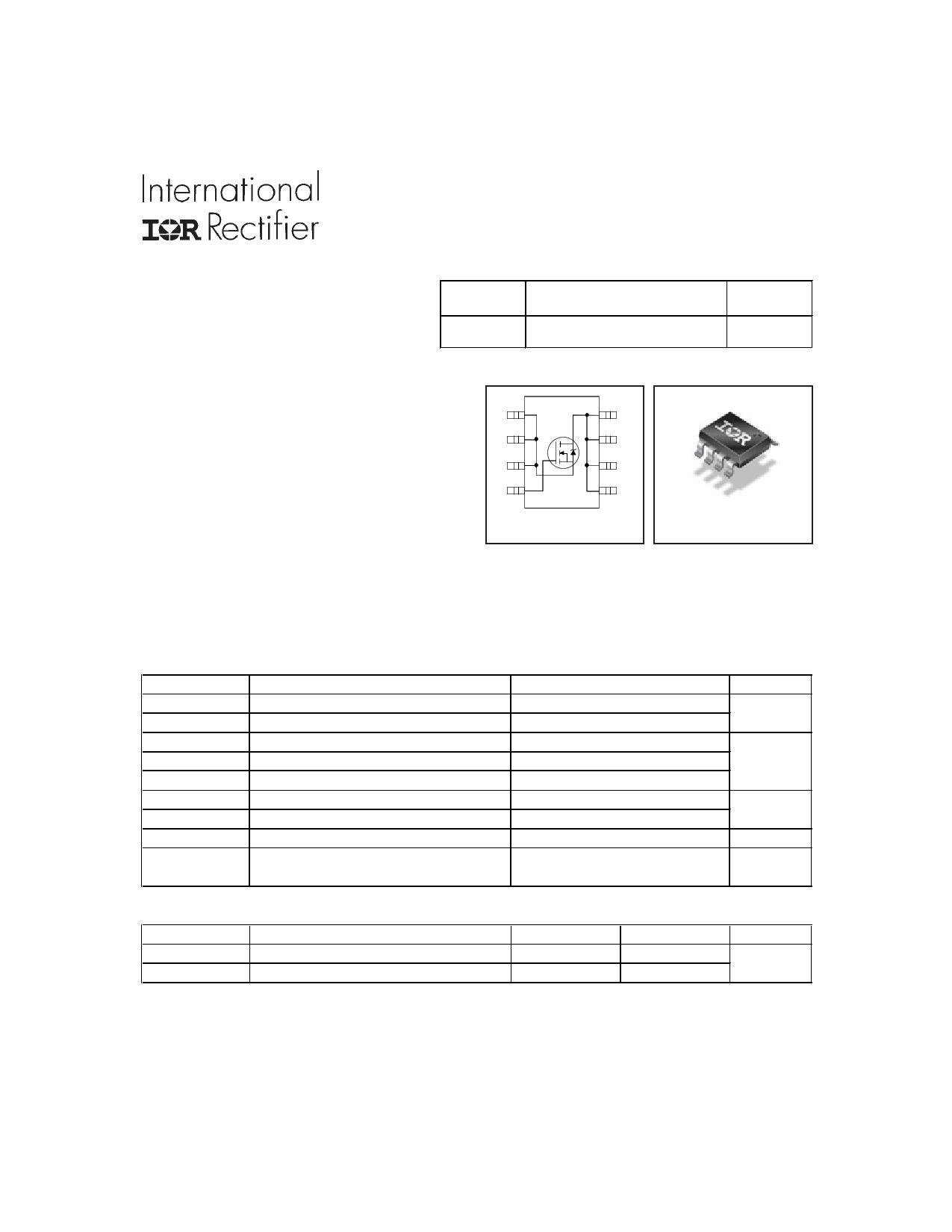 IRF7832Z Datasheet, IRF7832Z PDF,ピン配置, 機能