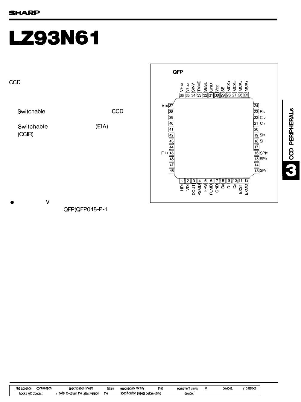 LZ93N61 دیتاشیت PDF