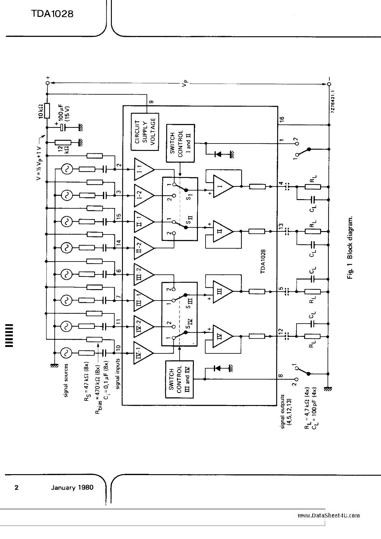 TDA1028 pdf schematic