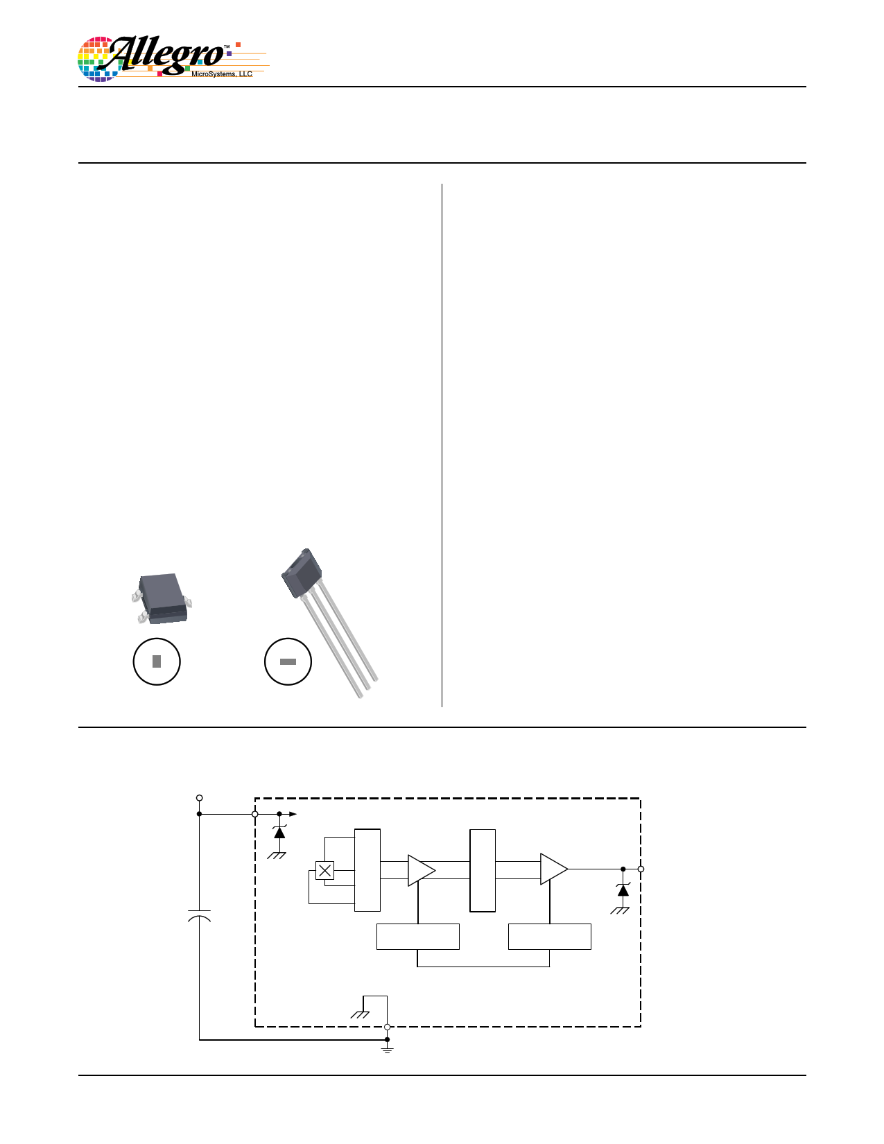 A1319 datasheet, circuit