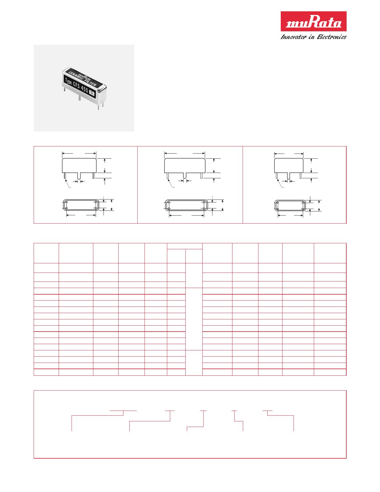 CFS455F datasheet