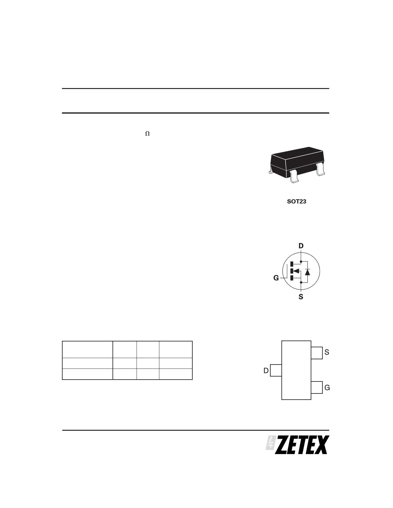ZXMN3B01F دیتاشیت PDF