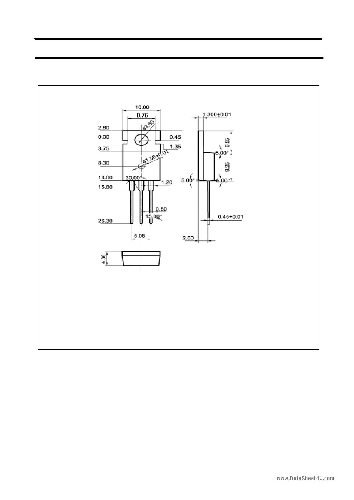 A1008 pdf, ピン配列