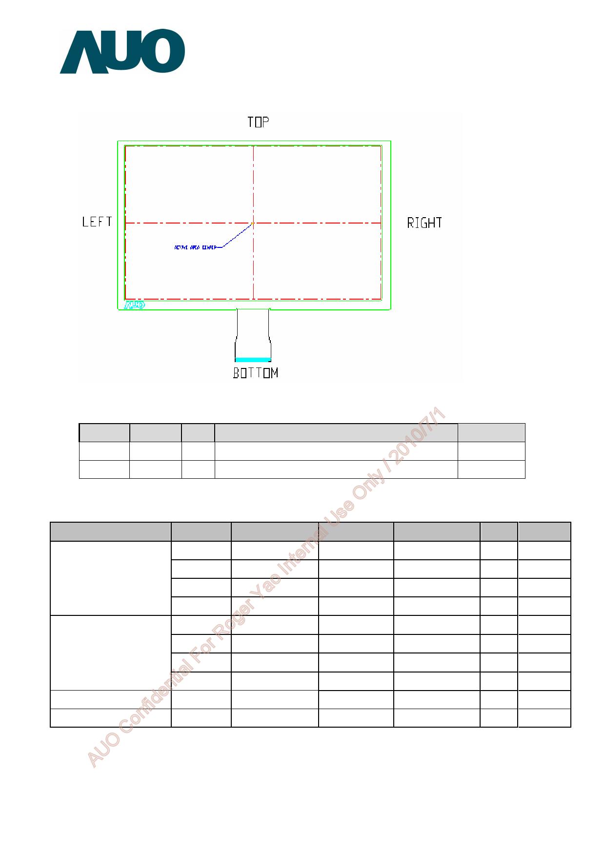 A070VW08-V0 diode, scr