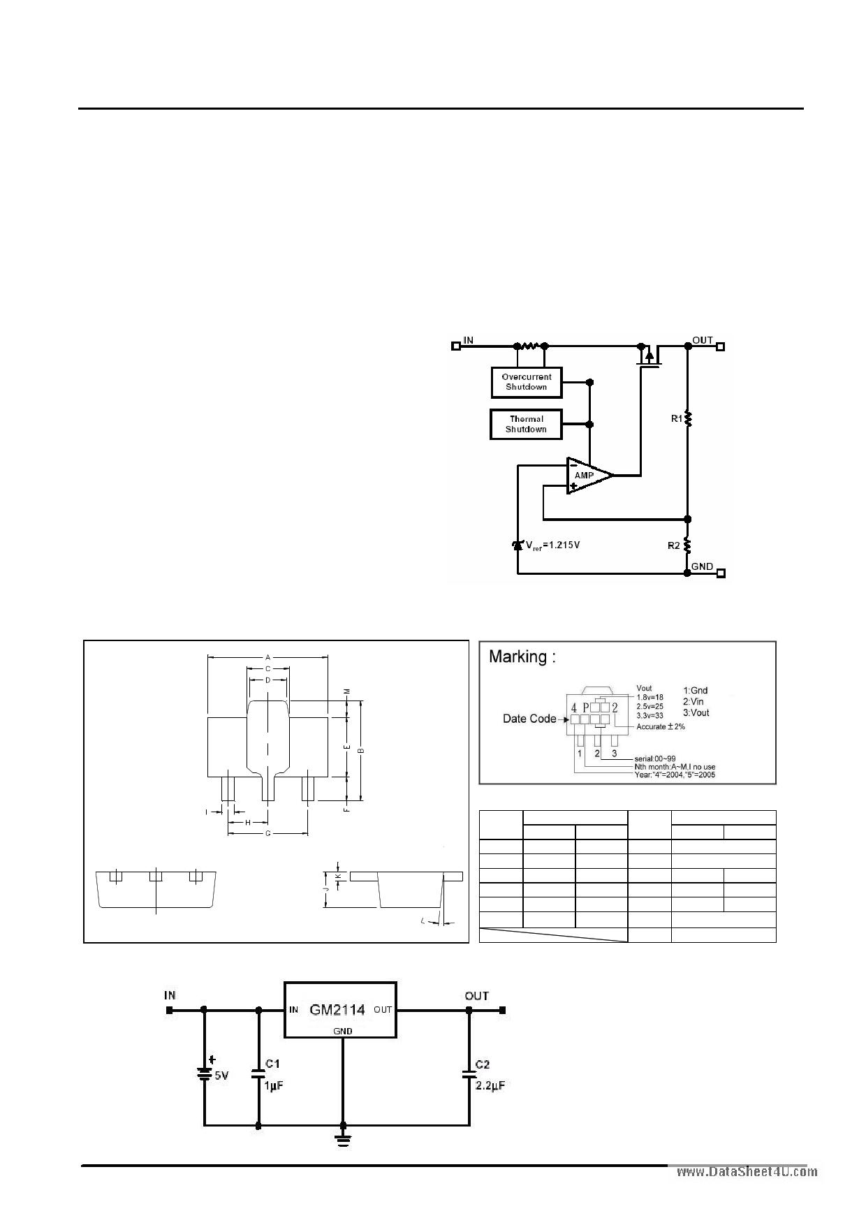 GM2114 دیتاشیت PDF