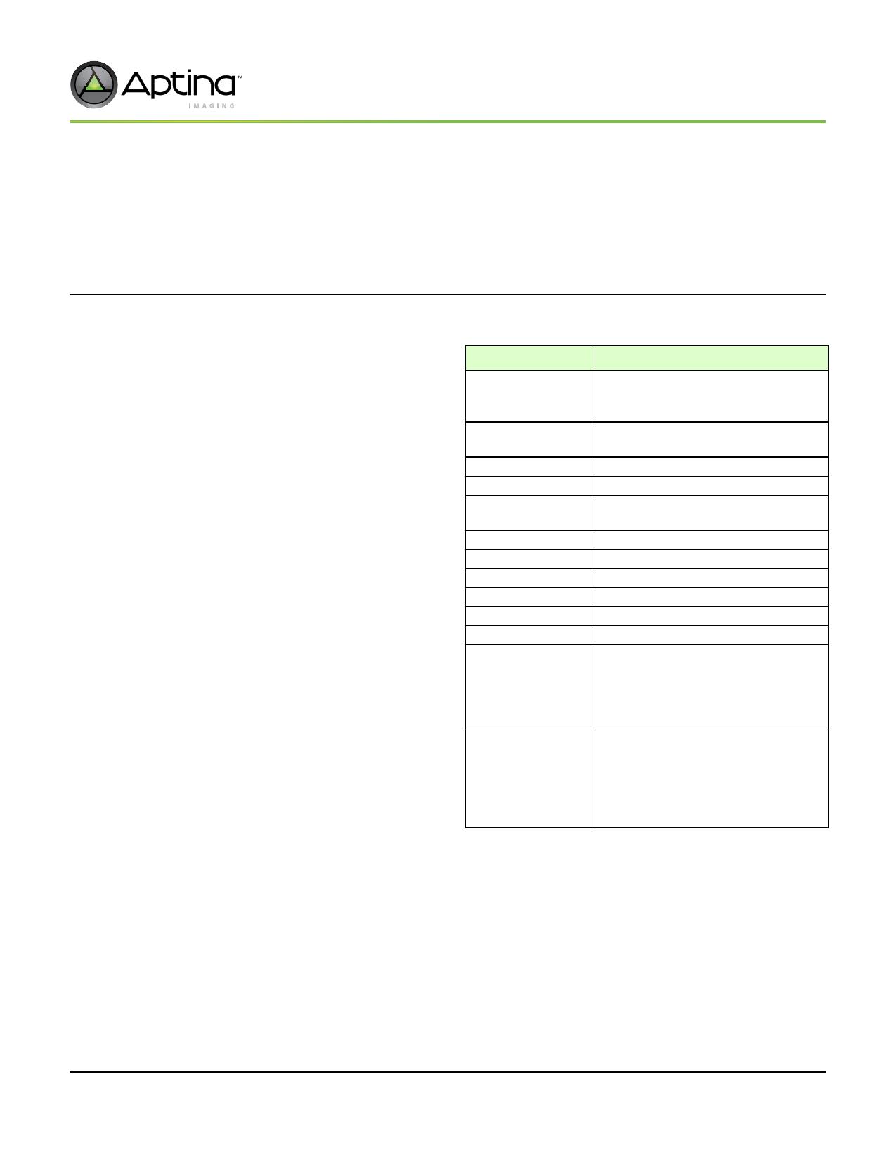 ASX340CS 데이터시트 및 ASX340CS PDF