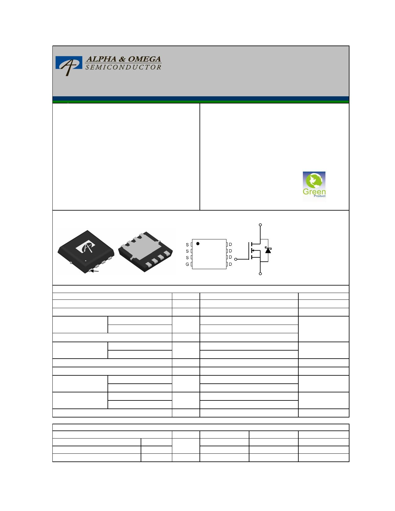 AON7788 Datasheet, AON7788 PDF,ピン配置, 機能