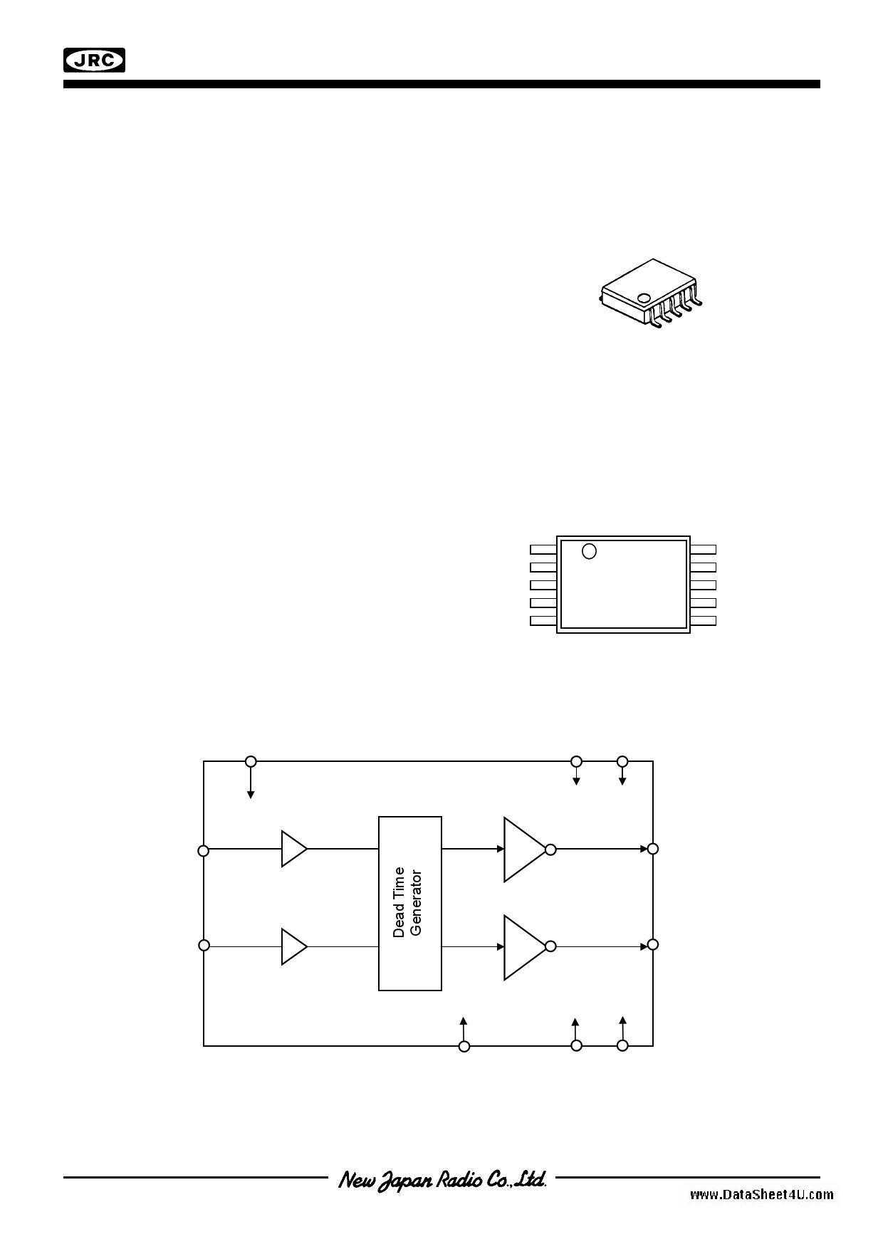 NJU8710 دیتاشیت PDF